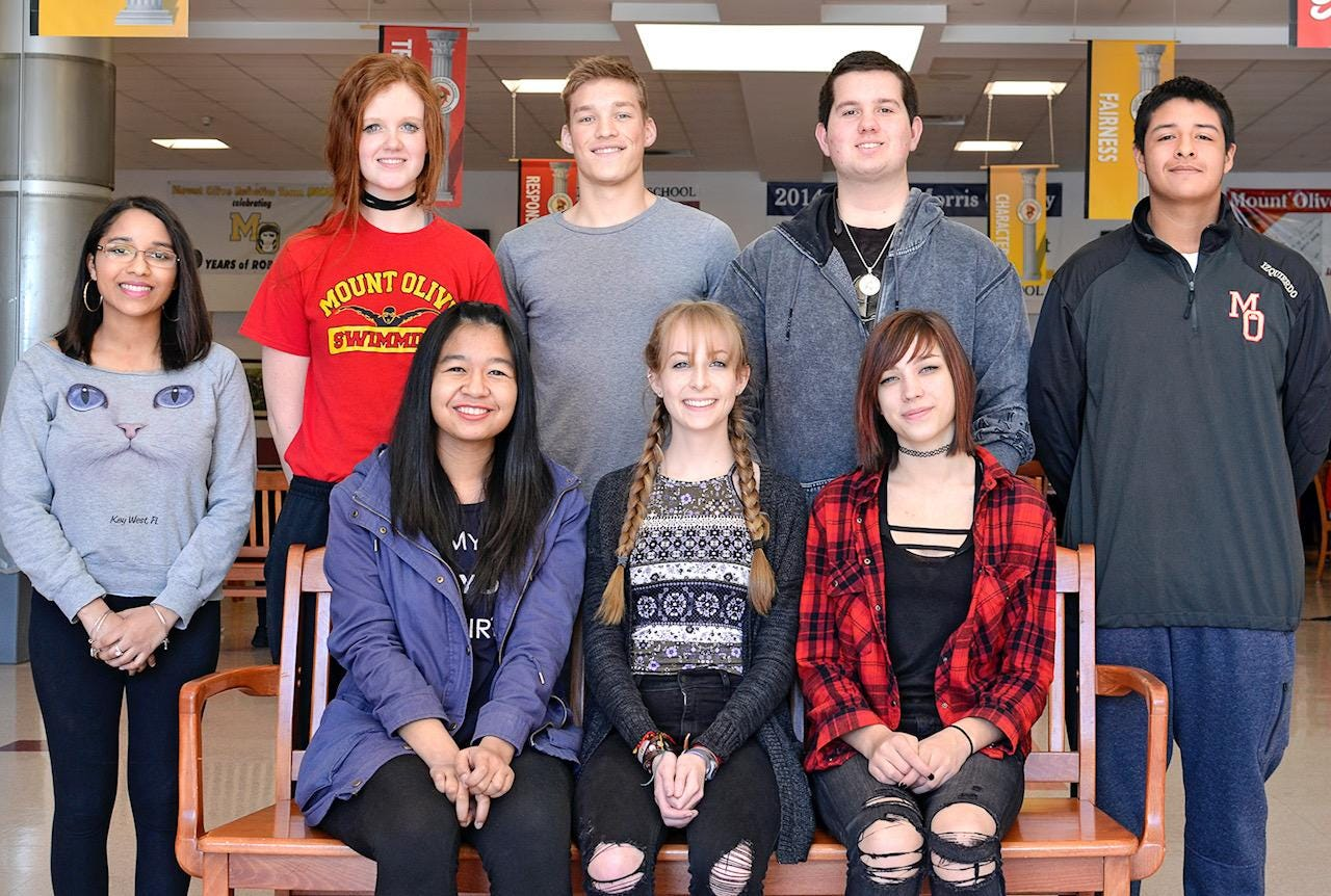 National Art Honor Society honors Mt. Olive students