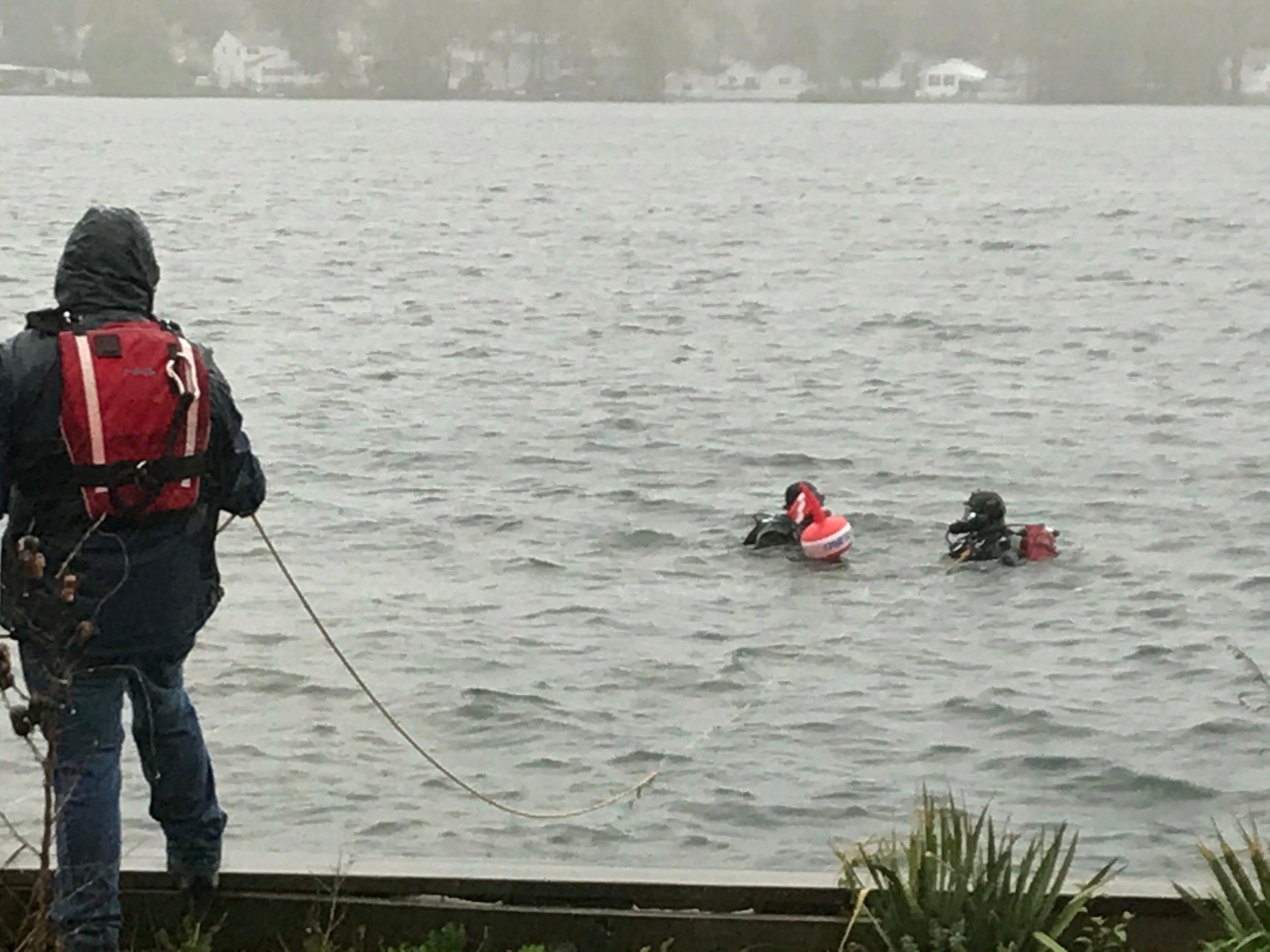 Responders verify phantom diver in Lake Parsippany