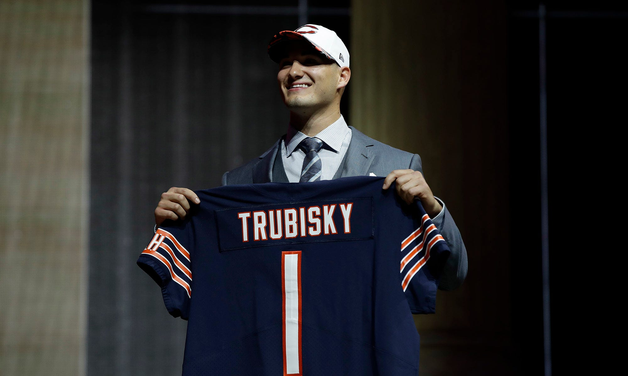 The Chicago Bears gave up too much to pick Mitch Trubisky