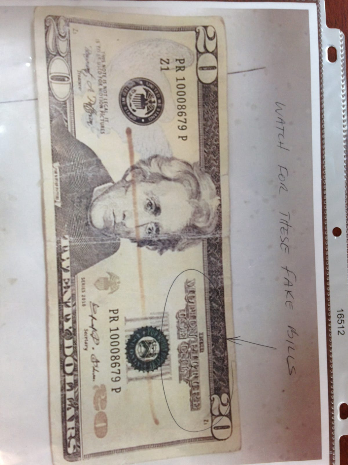 Tell Mel: Movie prop money passing for real cash,