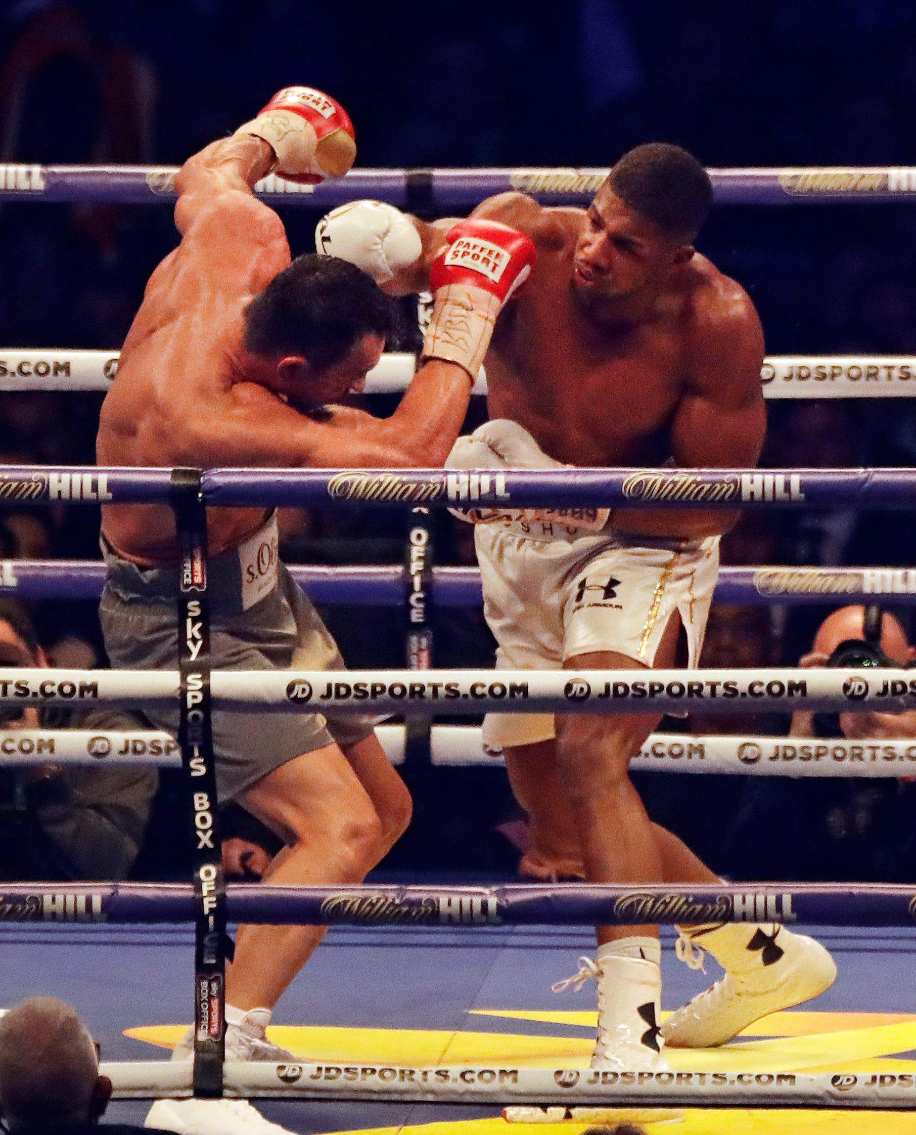 Anthony Joshua Beats Wladimir Klitschko In Epic