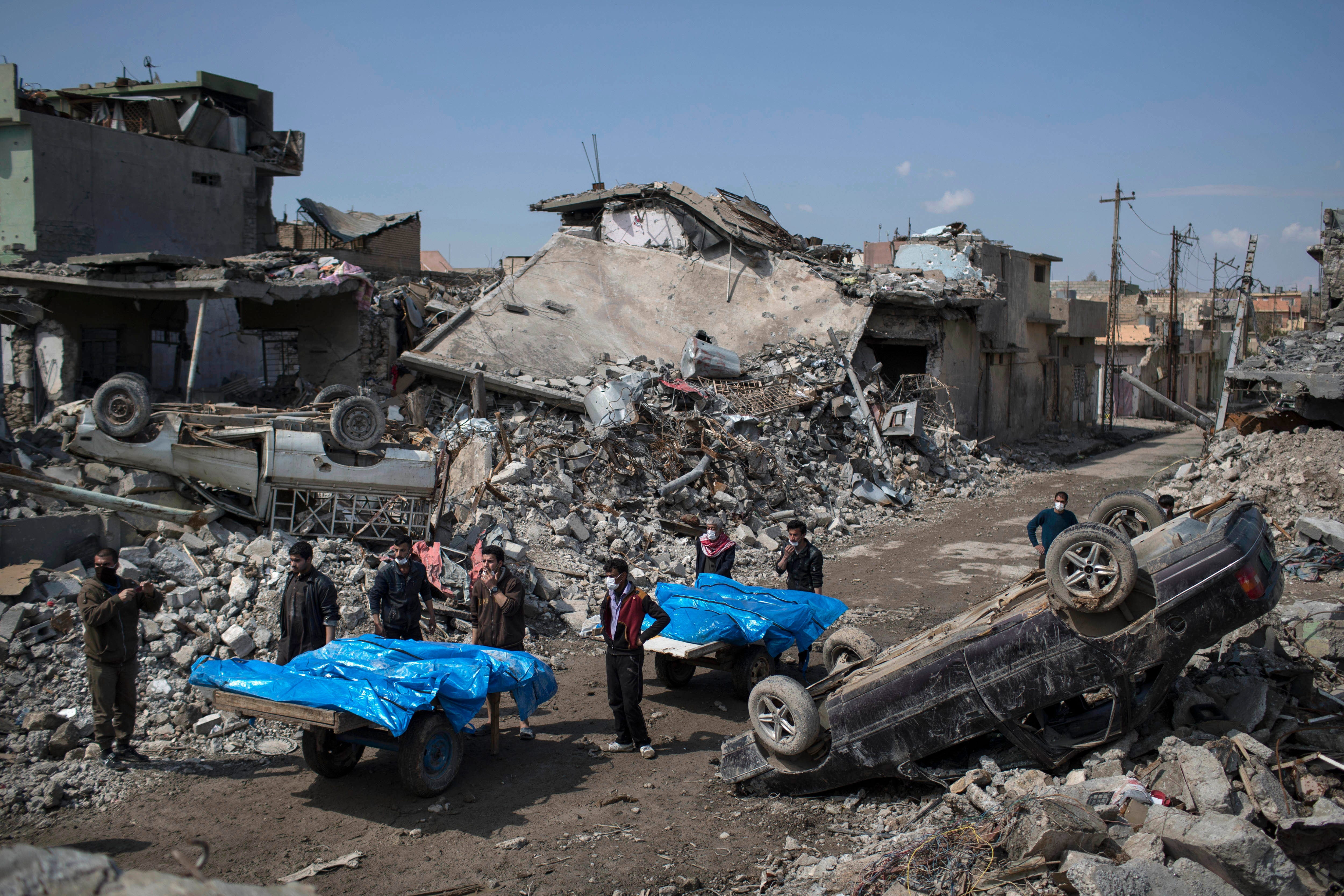 Pentagon: 45 civilians killed by coalition strikes in Iraq and Syria