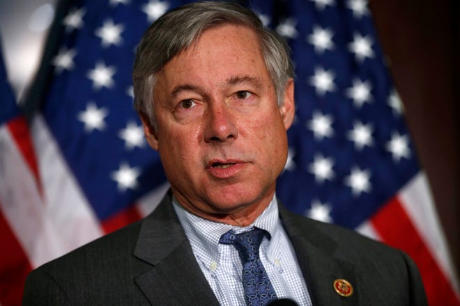 Rep. Fred Upton, R-Mich. speaks in 2013.