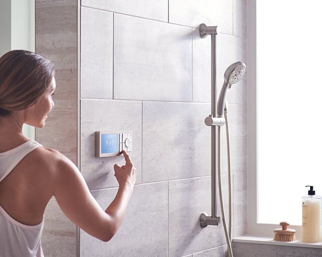 10 futuristic gadgets you didn 39 t know your bathroom needed for Smart bathroom