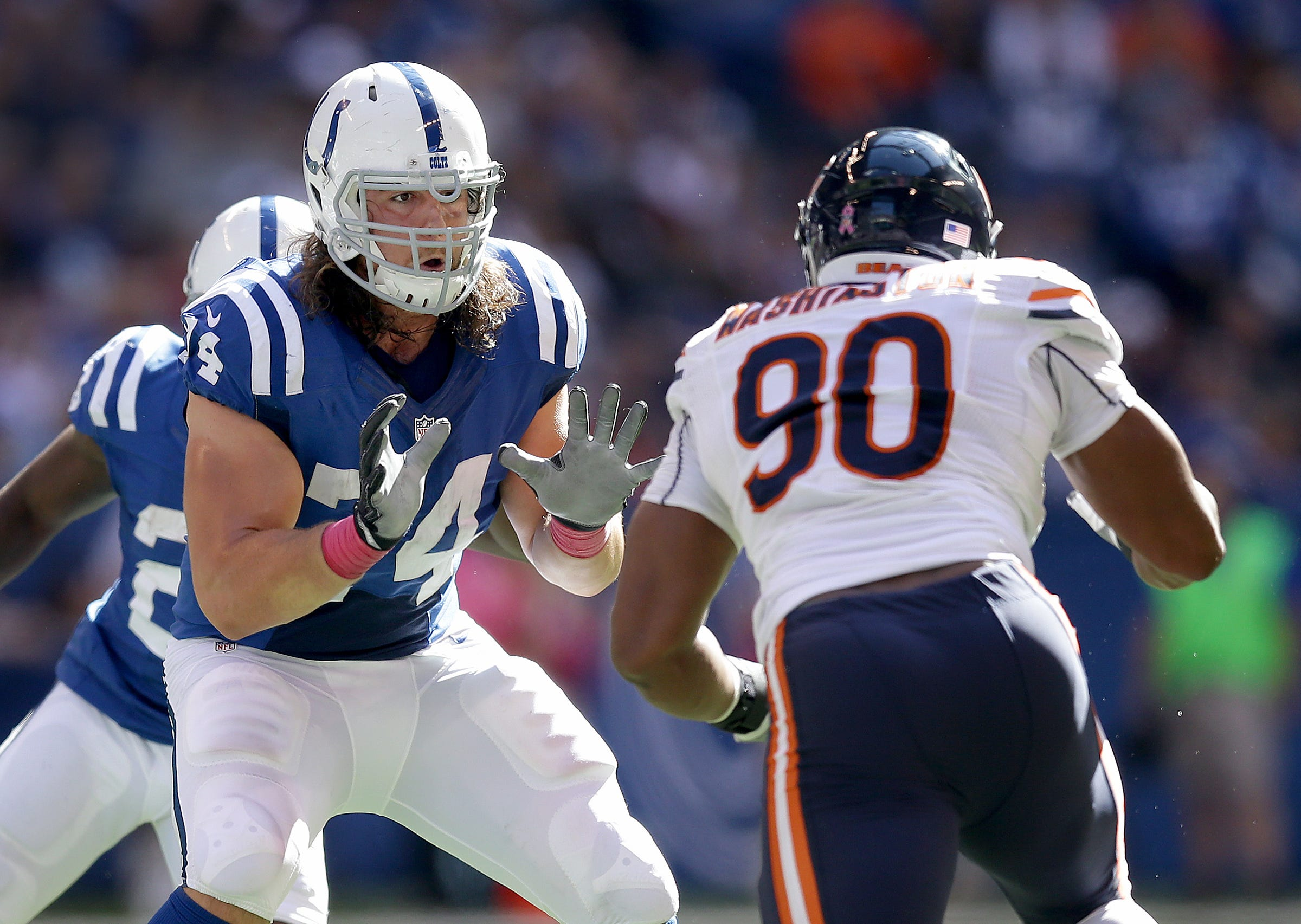 Colts need consistency from veteran Castonzo