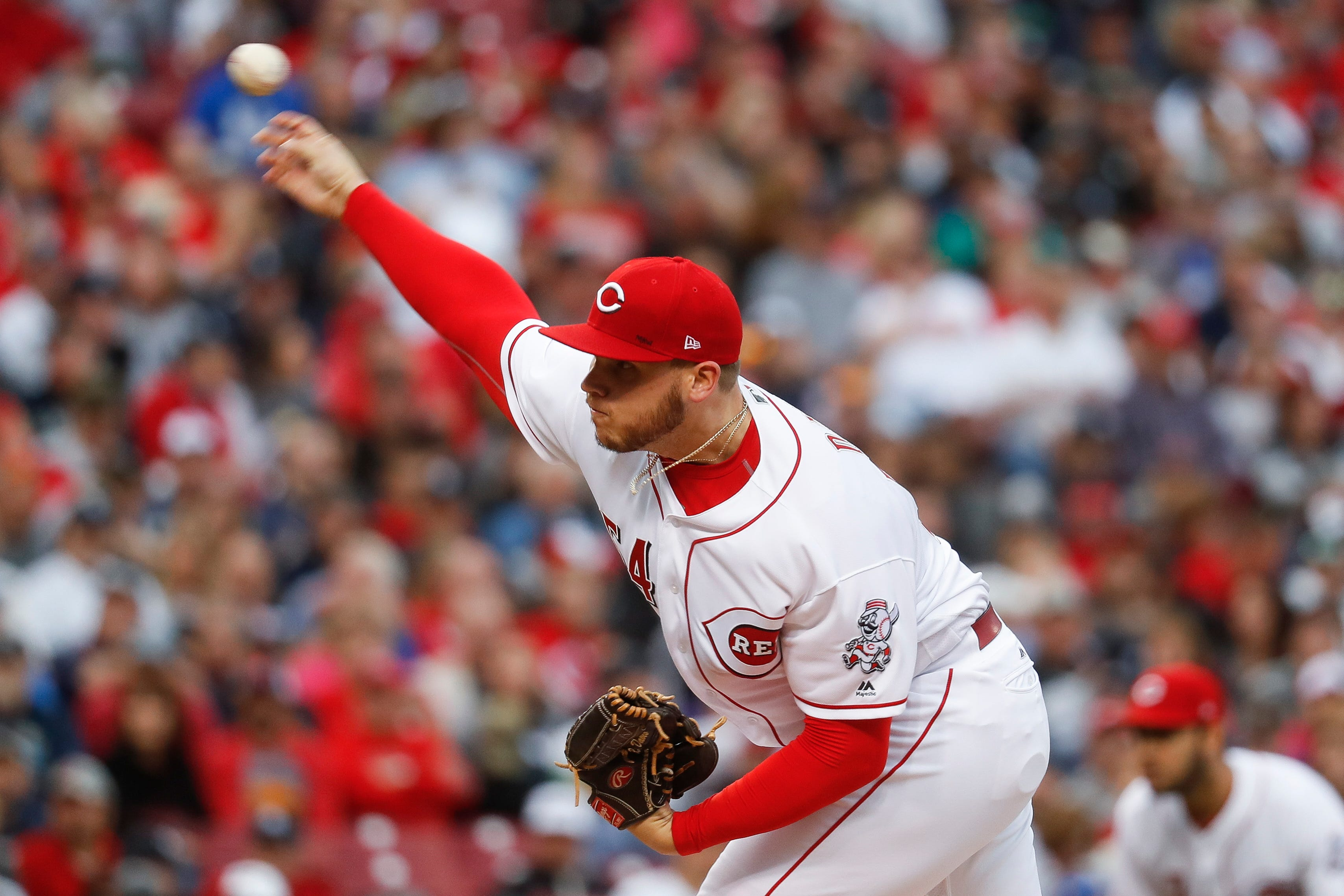 Reds notes: Rookie Davis to avoid disabled list