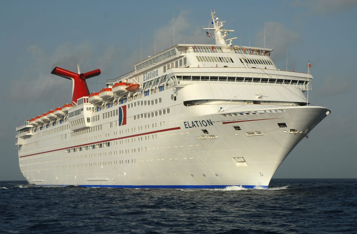 Carnival Elation is the latest Carnival ship to undergo