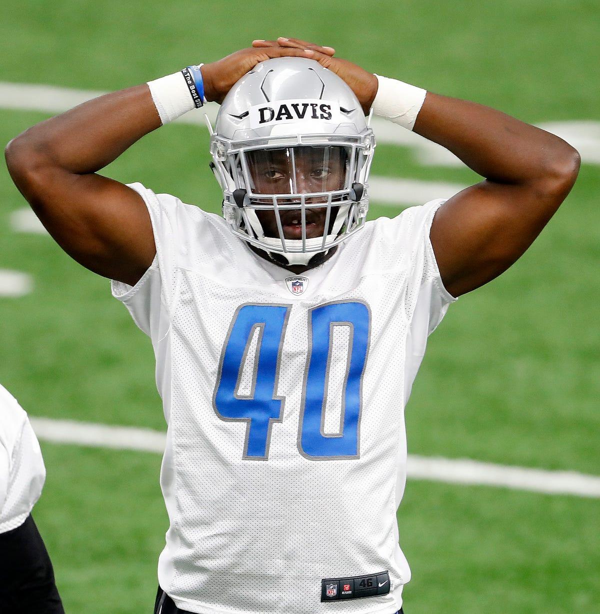 dea8b147 Lead dog: Rookie or not, Jarrad Davis will direct Detroit Lions defense