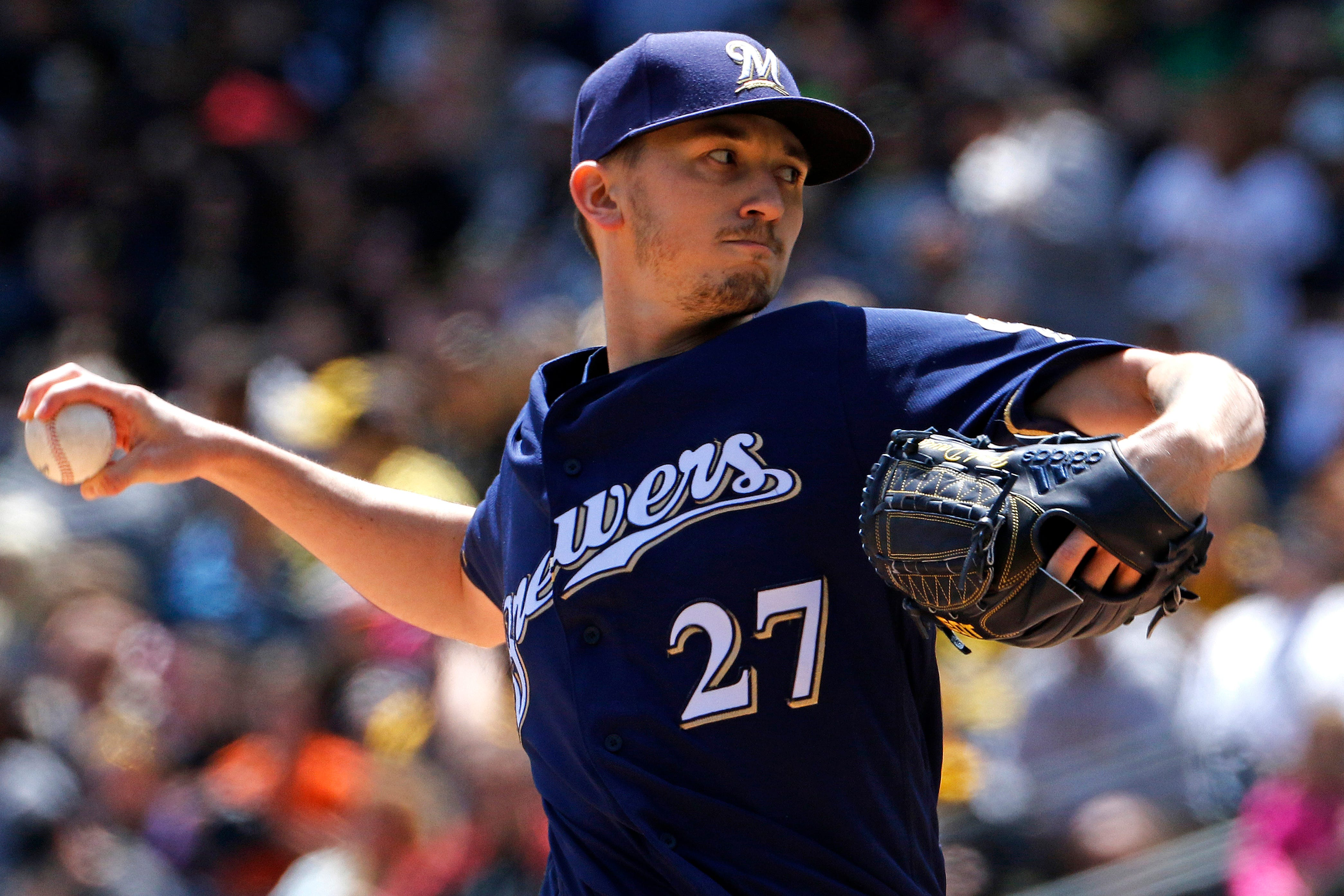 Davies looks to extend his winning streak and put an end to Brewers' three-game skid