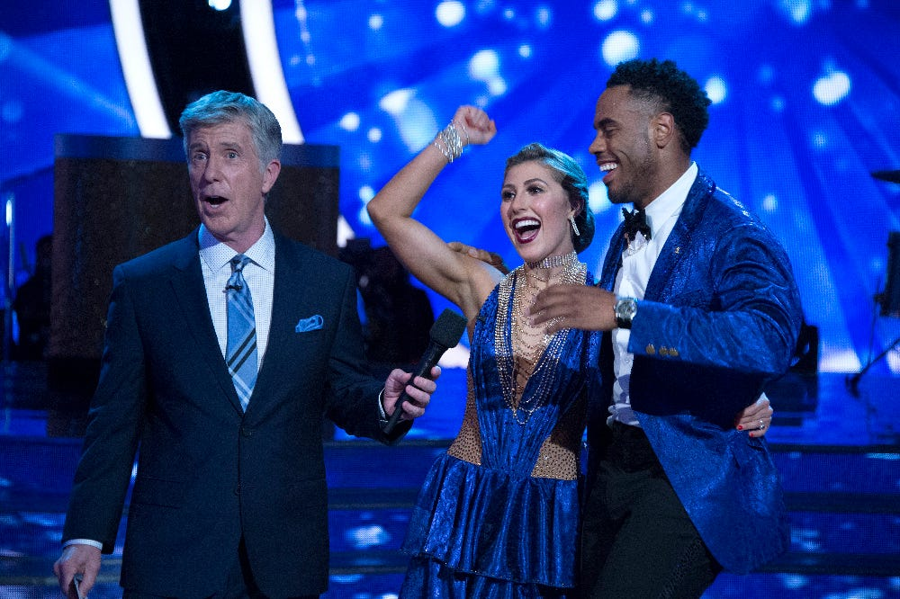 From Big Blue to ballroom, Rashad Jennings has chance to win 'Dancing with the Stars'