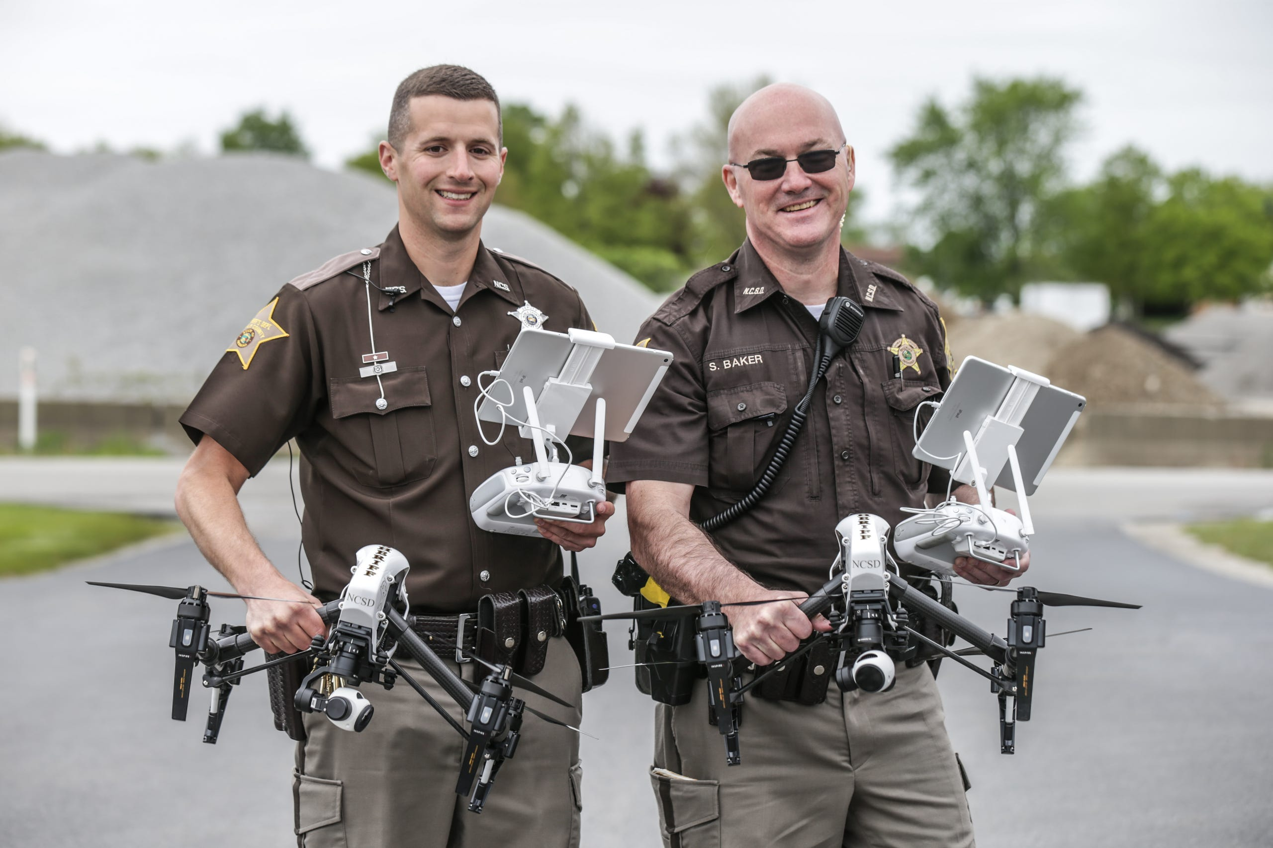 Noble County Sheriff's Dept  fight crime via drone