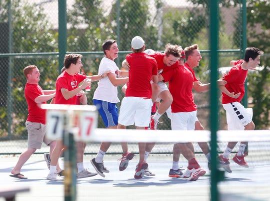 BROPHY PREP - Div. I boys tennis.