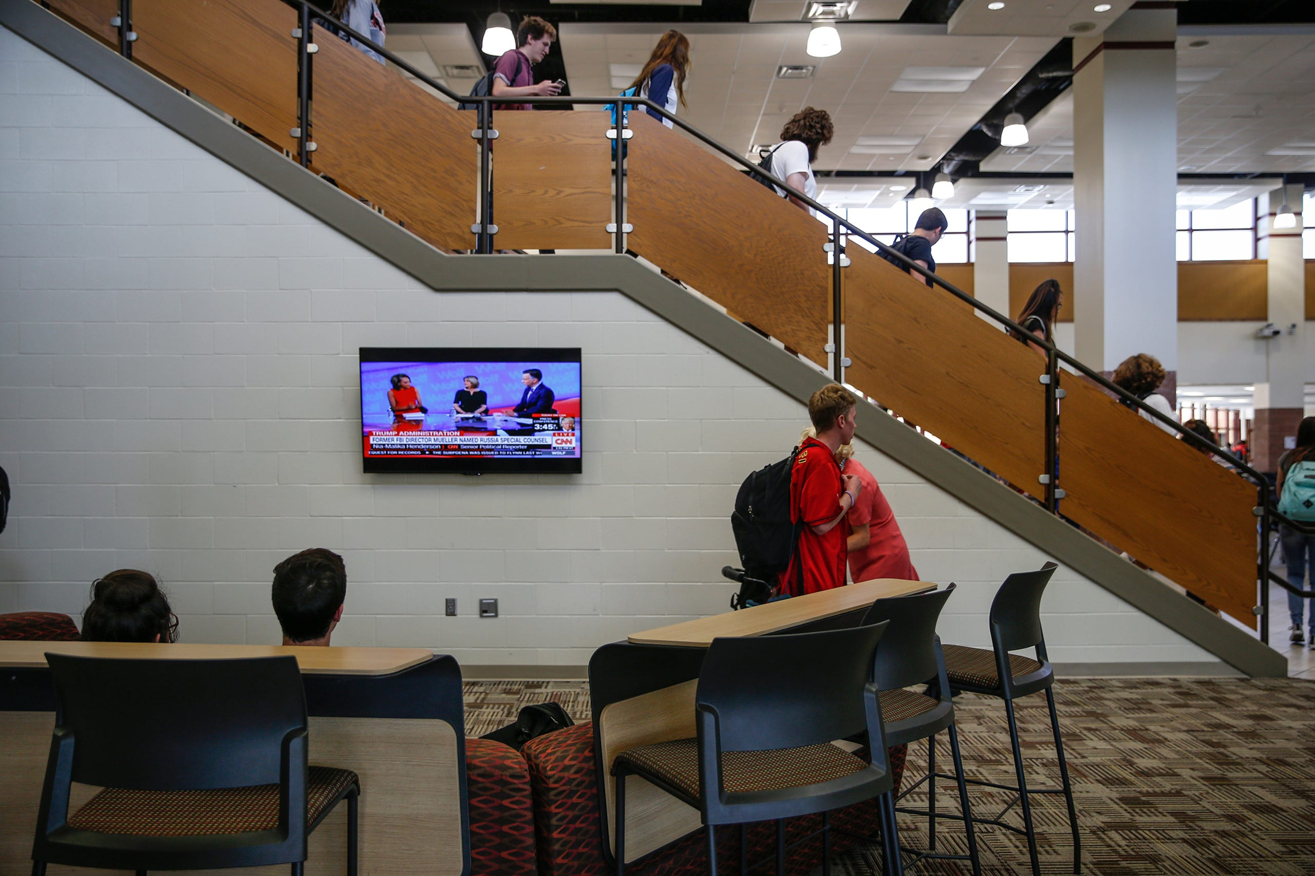 Peek Inside Fishers High School S College Like Wing
