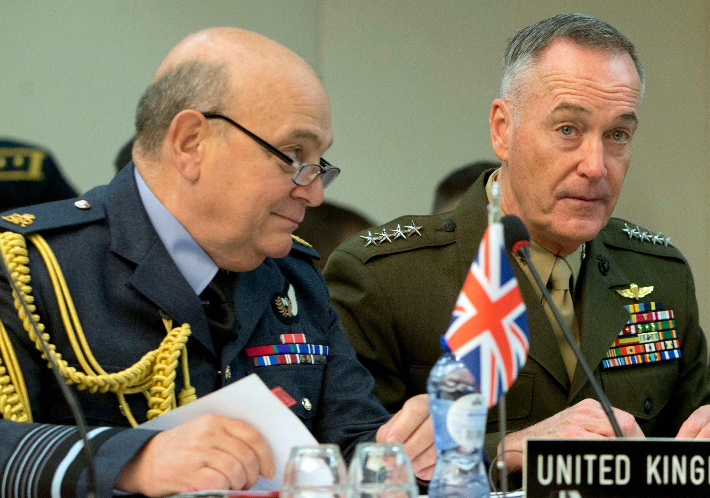 636306651906912701-AP-Belgium-NATO-Defense NATO in Afghanistan: Marine Gen. Joseph Dunford says alliance should move quickly to deploy forces