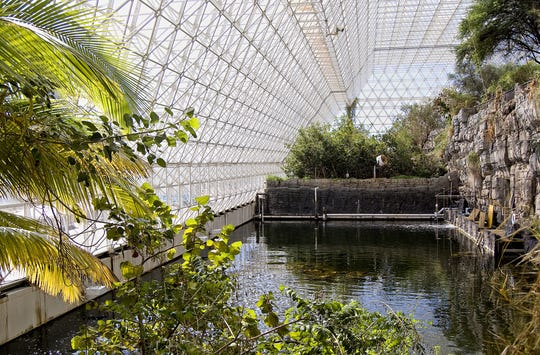 Inside the Biosphere 2.