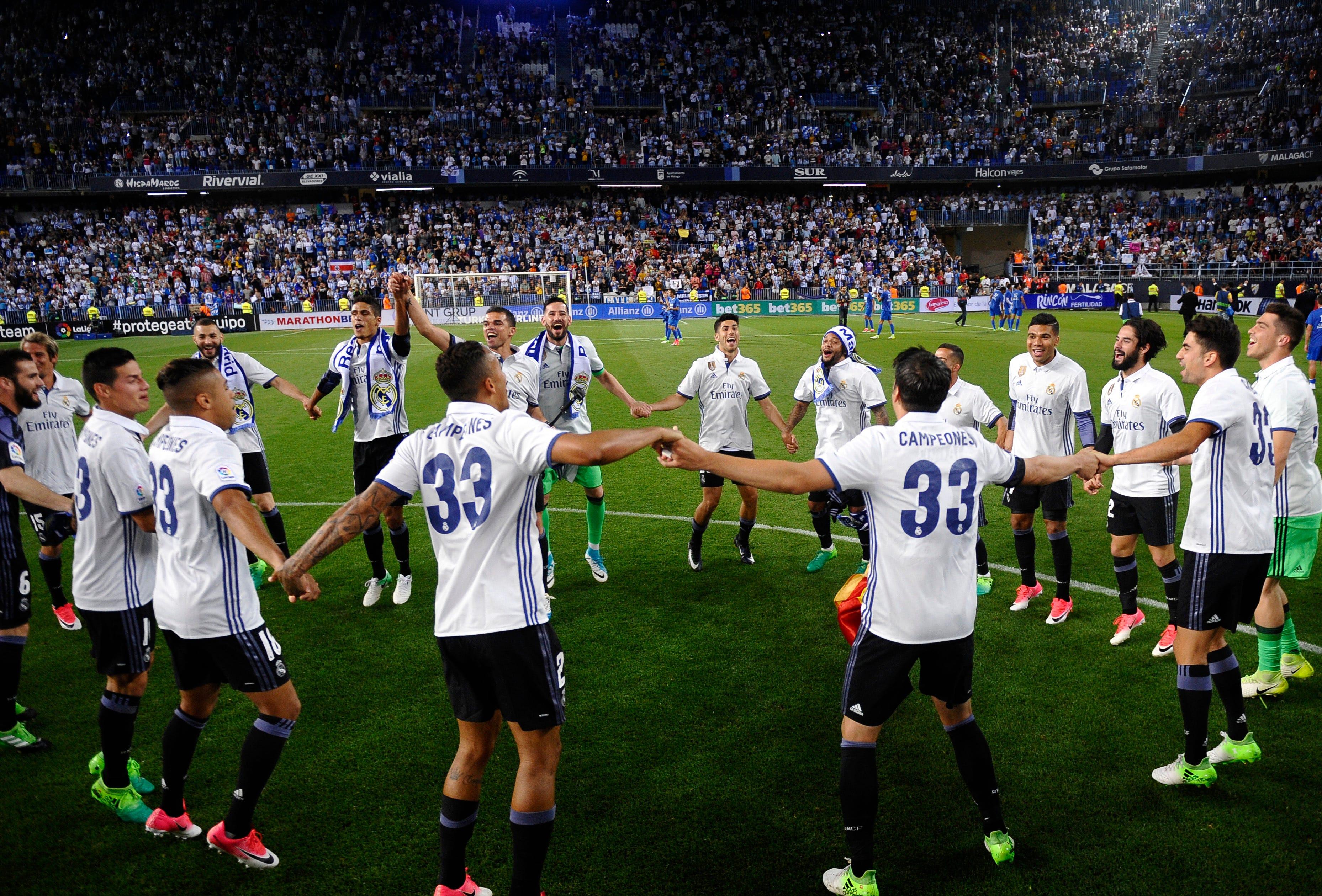How Zidane and Ronaldo led Madrid to Spanish league title