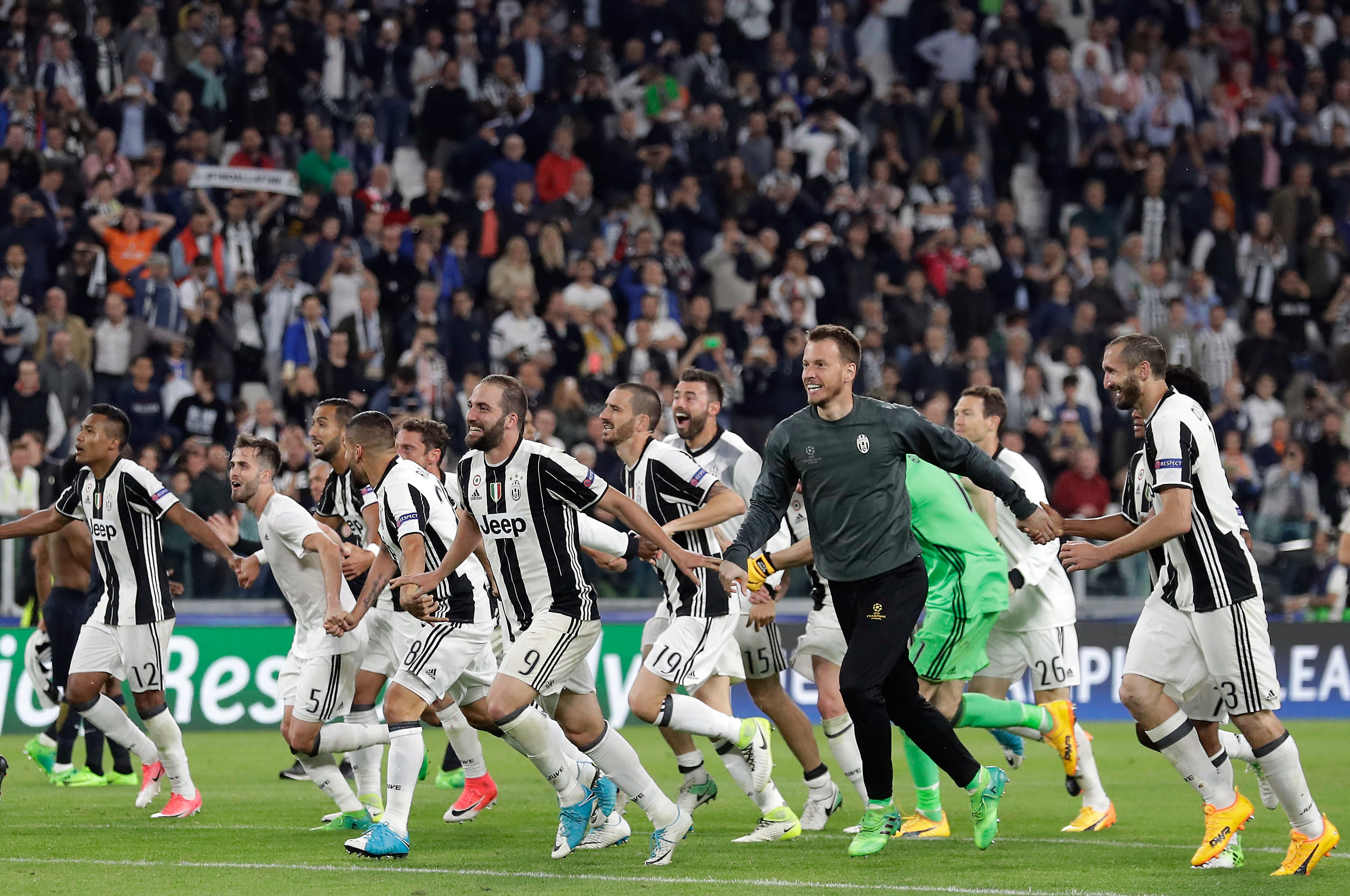 How Juventus claimed its 6th straight Serie A title