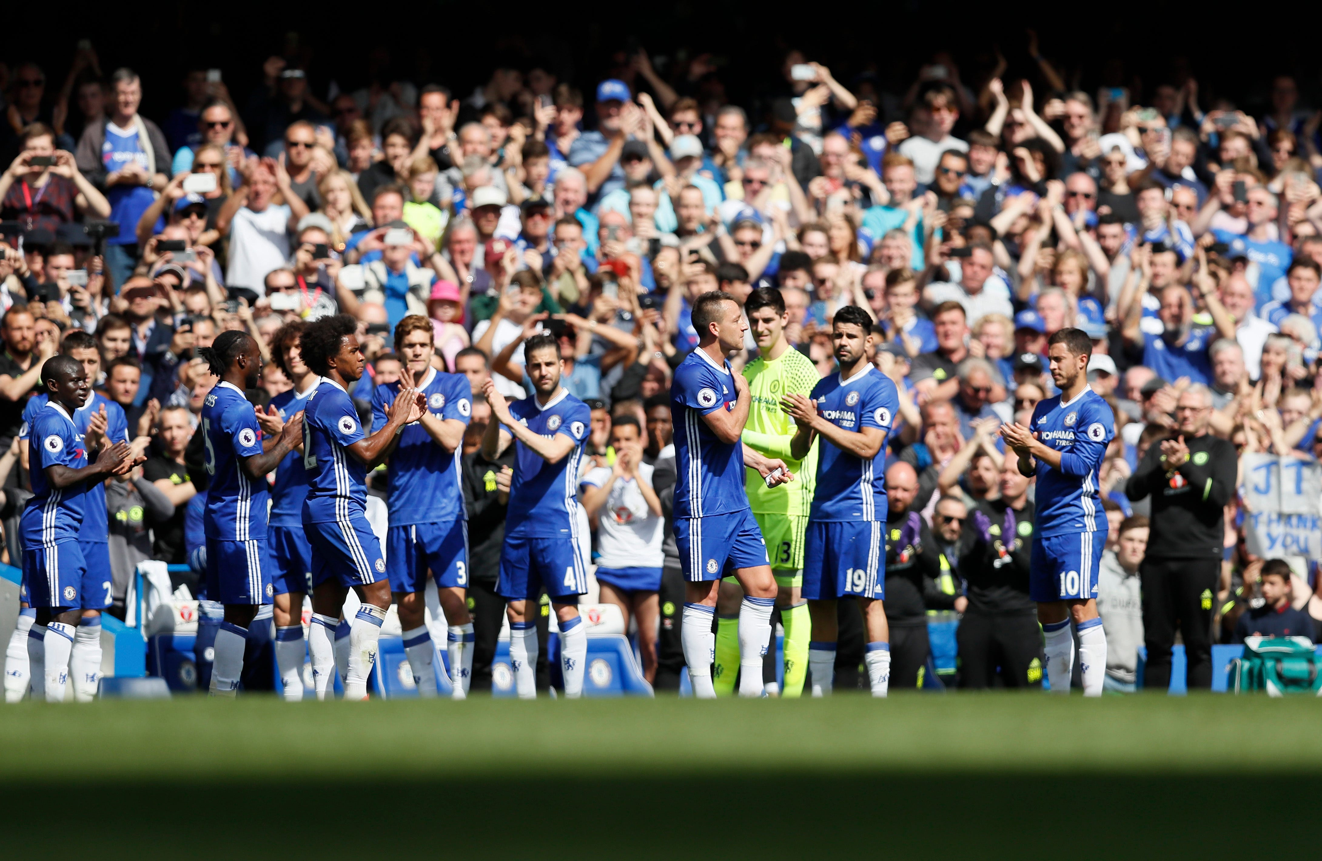 Terry given guard of honor in unusual farewell
