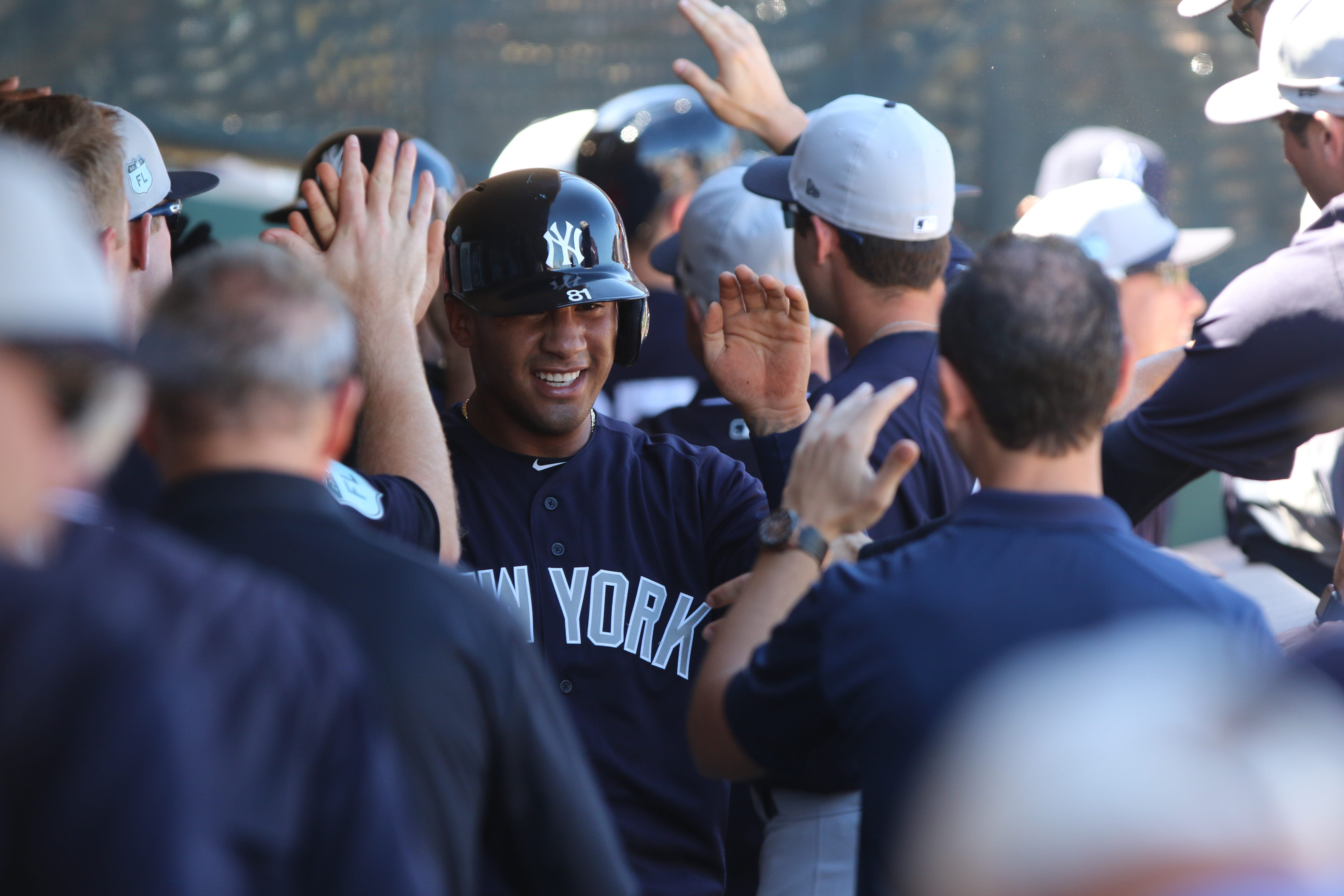 Gleyber Torres a tick away from the big leagues