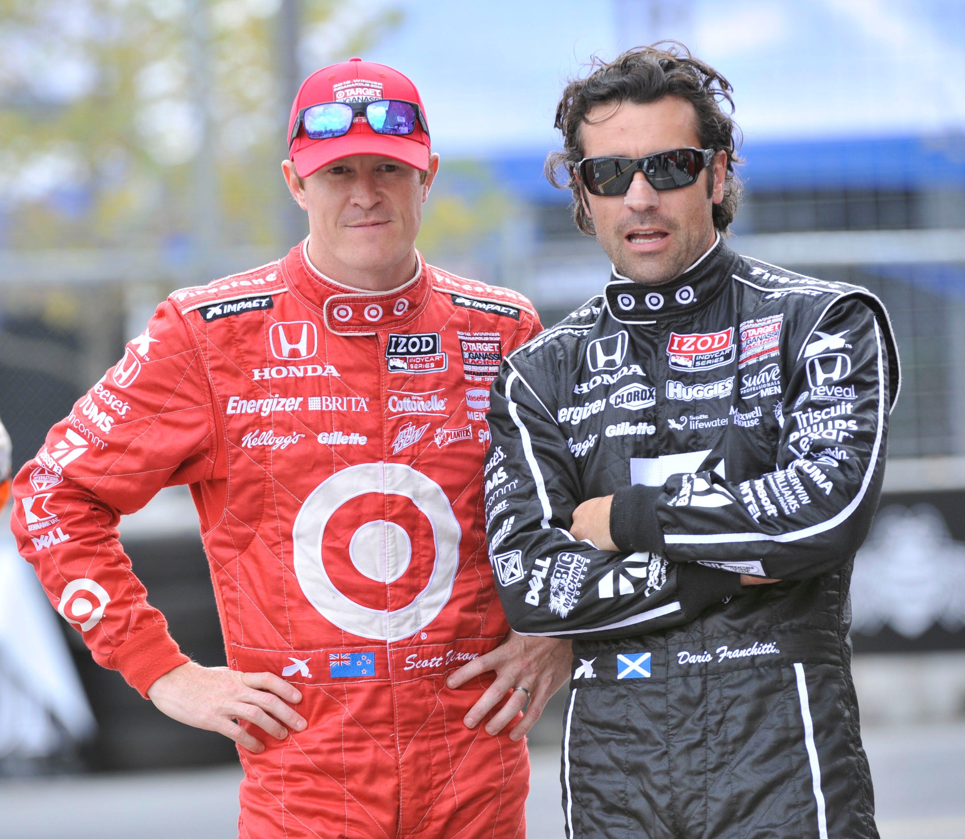 636310473017637909-USCP-DIXON-DARIO-58053226 IndyCar driver Scott Dixon, retired racer Dario Franchitti robbed at Taco Bell