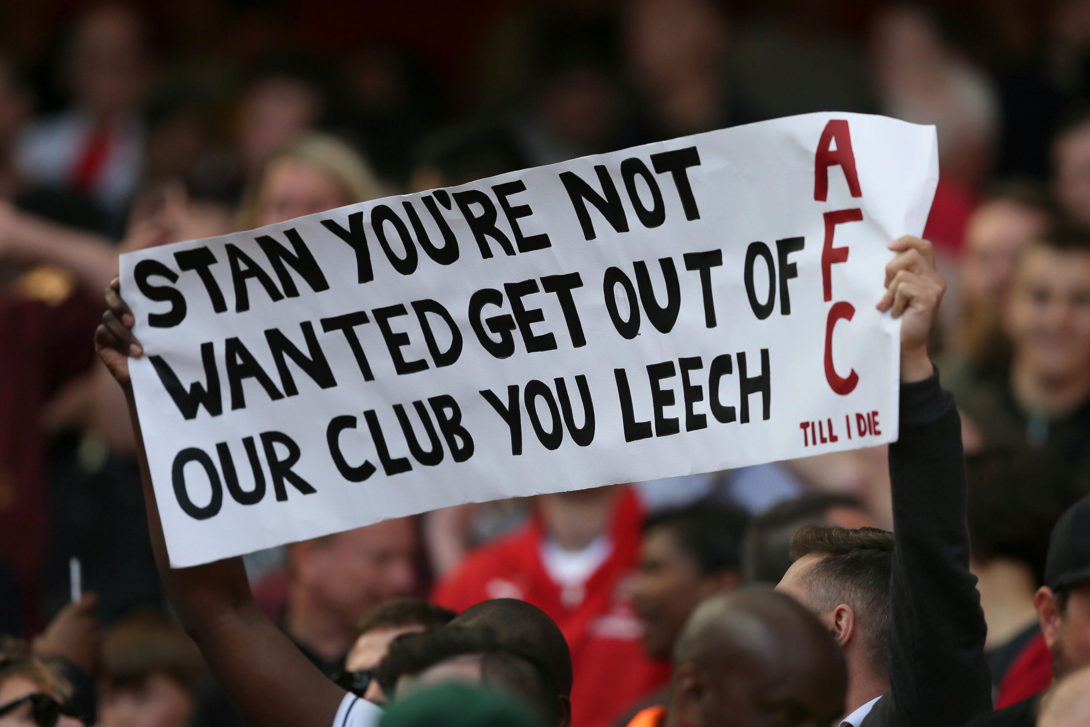 Arsenal owner Stan Kroenke says Gunners not for sale after hefty bid