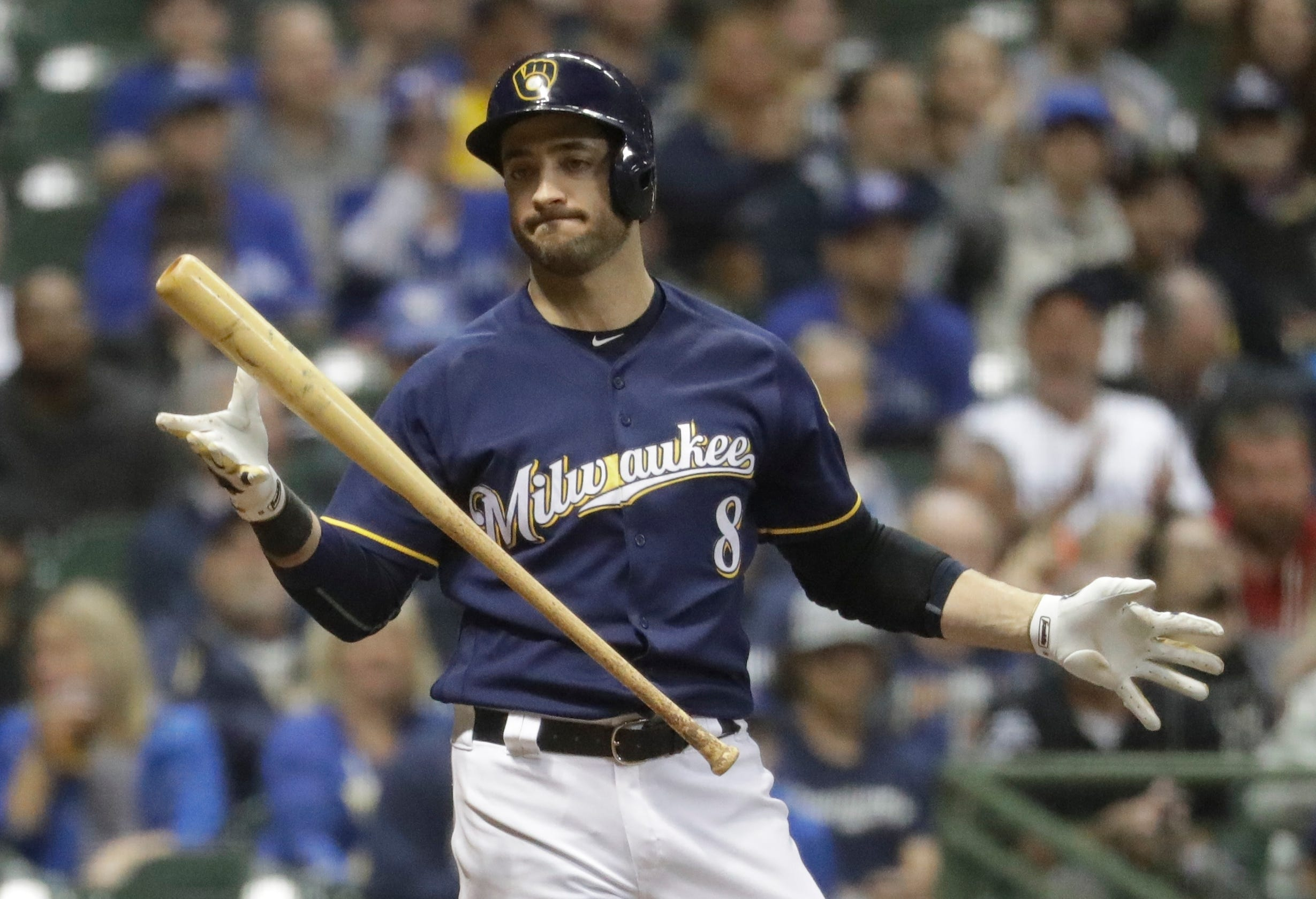 Big bats fail to deliver for Brewers
