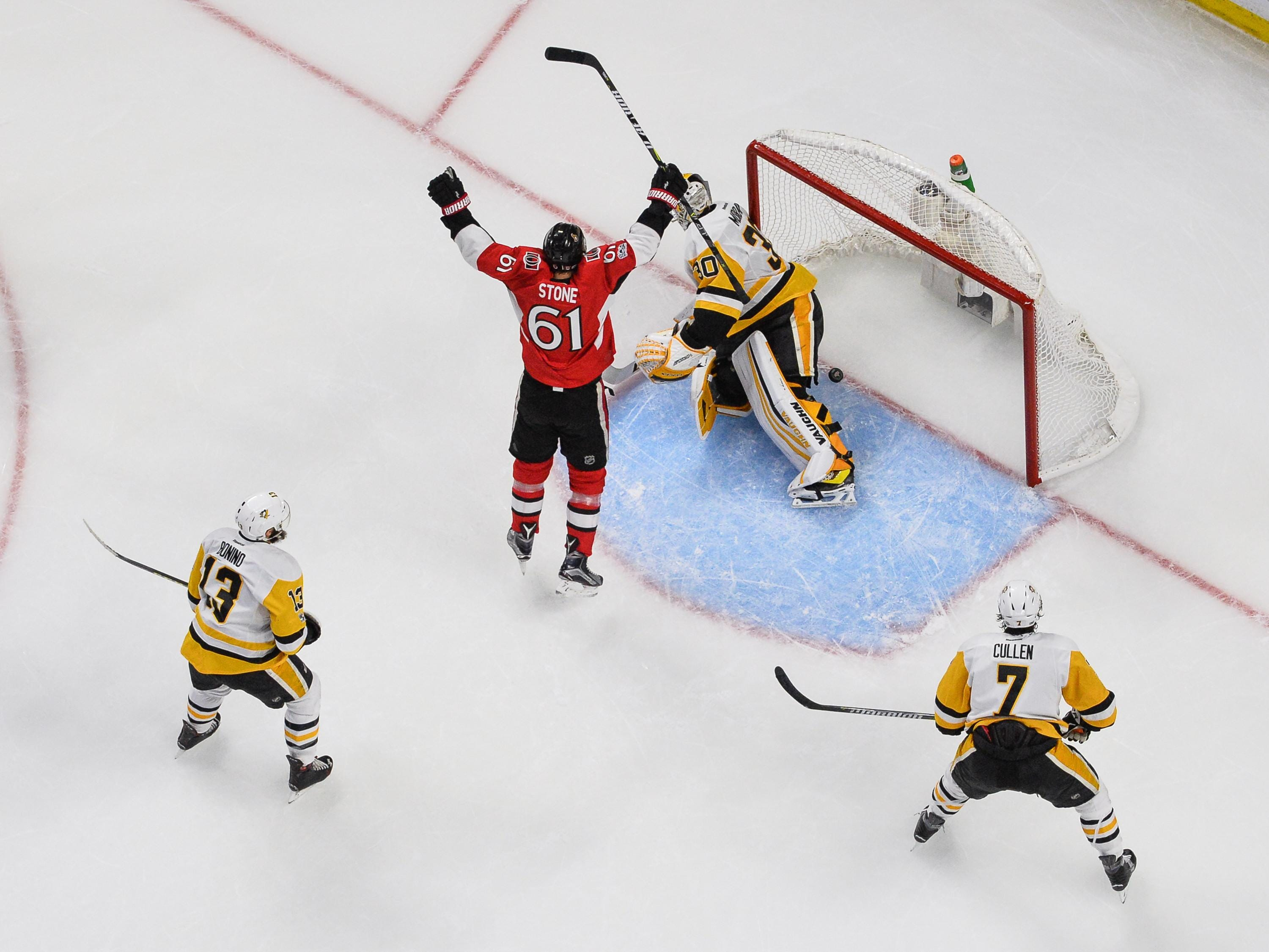 Hoffman's goal helps Senators force Game 7