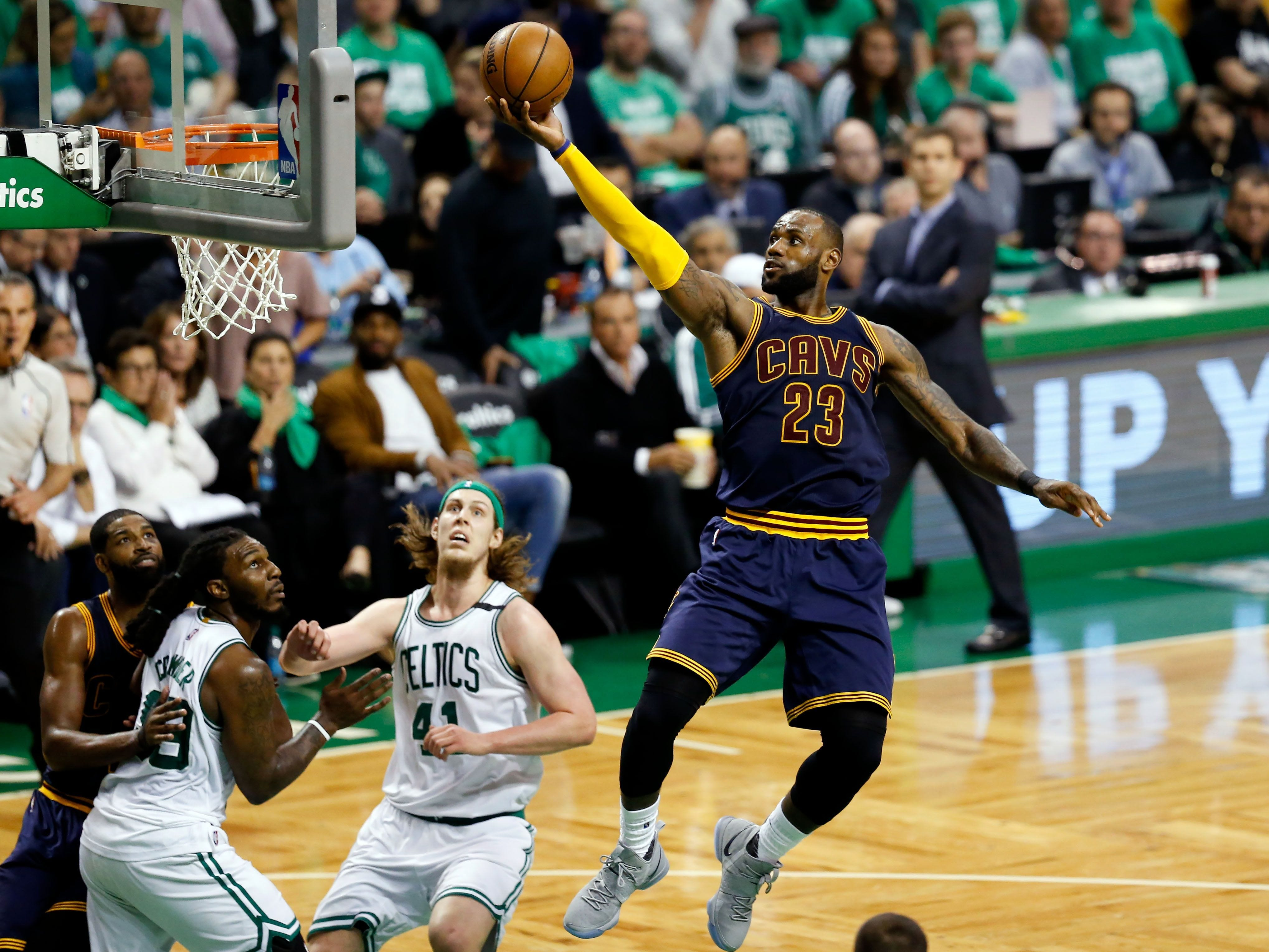 636313485706984523-USP-NBA-PLAYOFFS-CLEVELAND-CAVALIERS-AT-BOSTON-CE-91209554 Cavaliers roll past Celtics, advance to NBA Finals showdown with Warriors