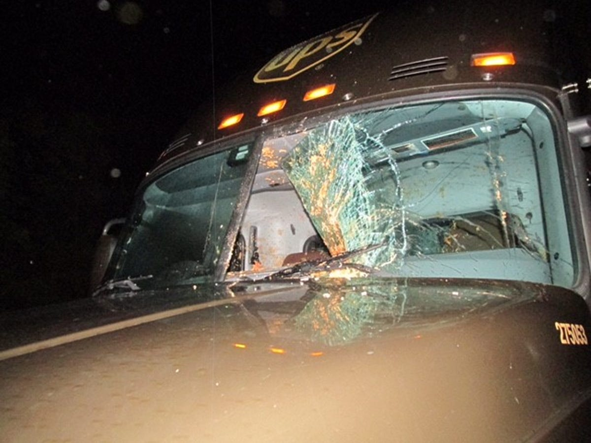 Spaghetti bomb incident on I-70 in Wayne County goes viral