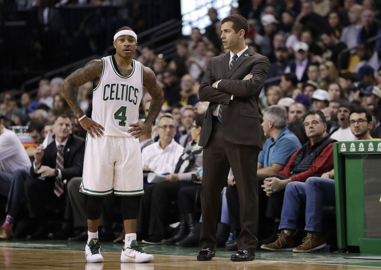 Isaiah Thomas shocked by Brad Stevens' Coach of the Year snub