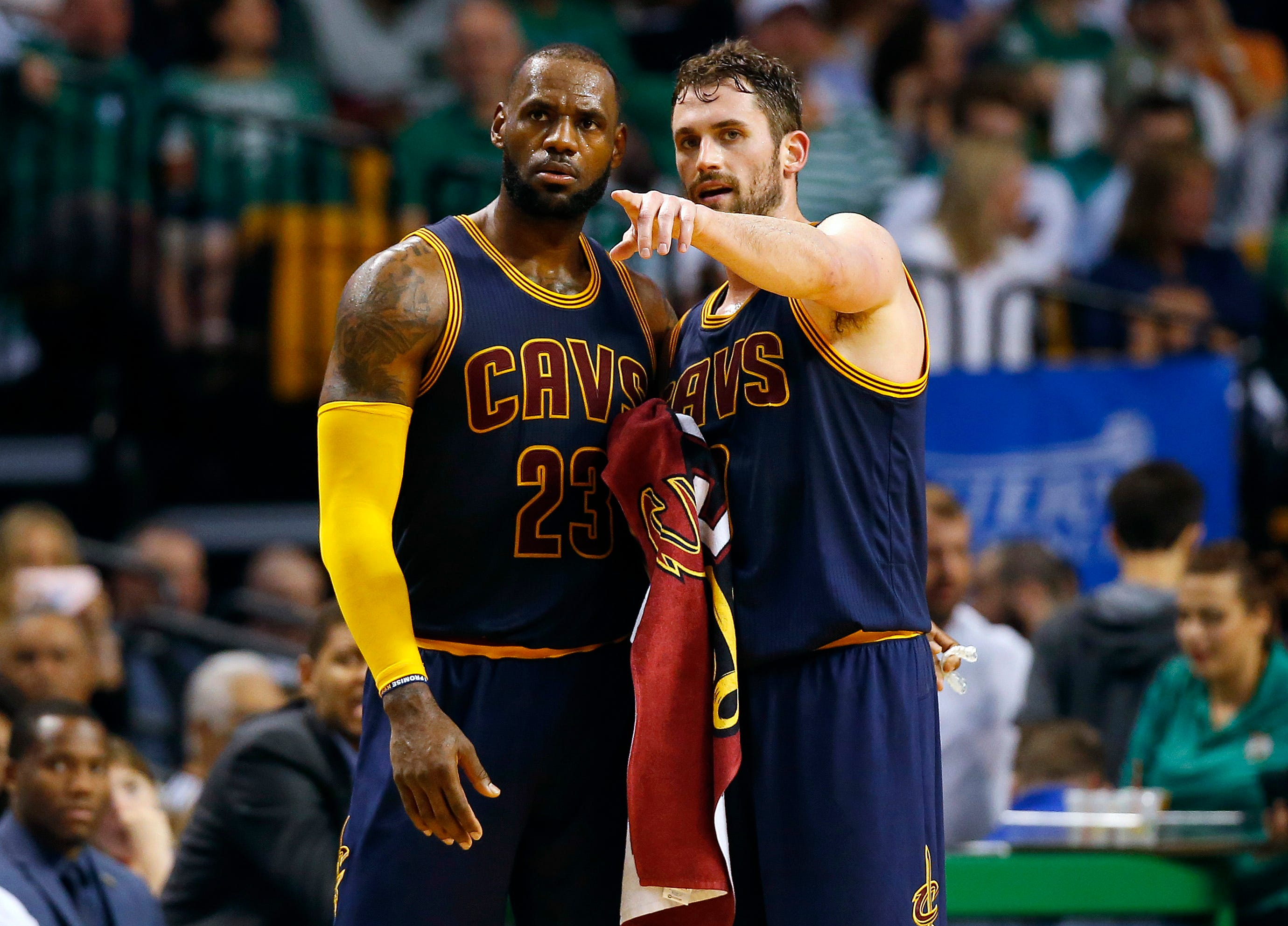 Kevin Love, underdog Cavs insist they have plenty of bite for Finals