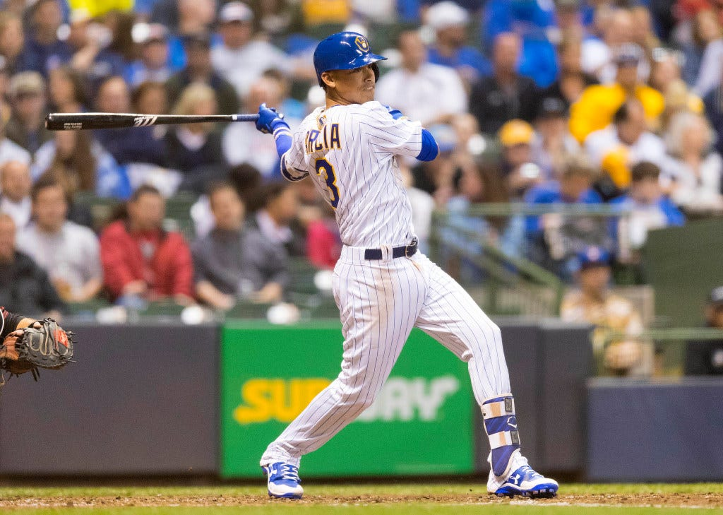 Notes: Adjustments made by Orlando Arcia at the plate are starting to show results