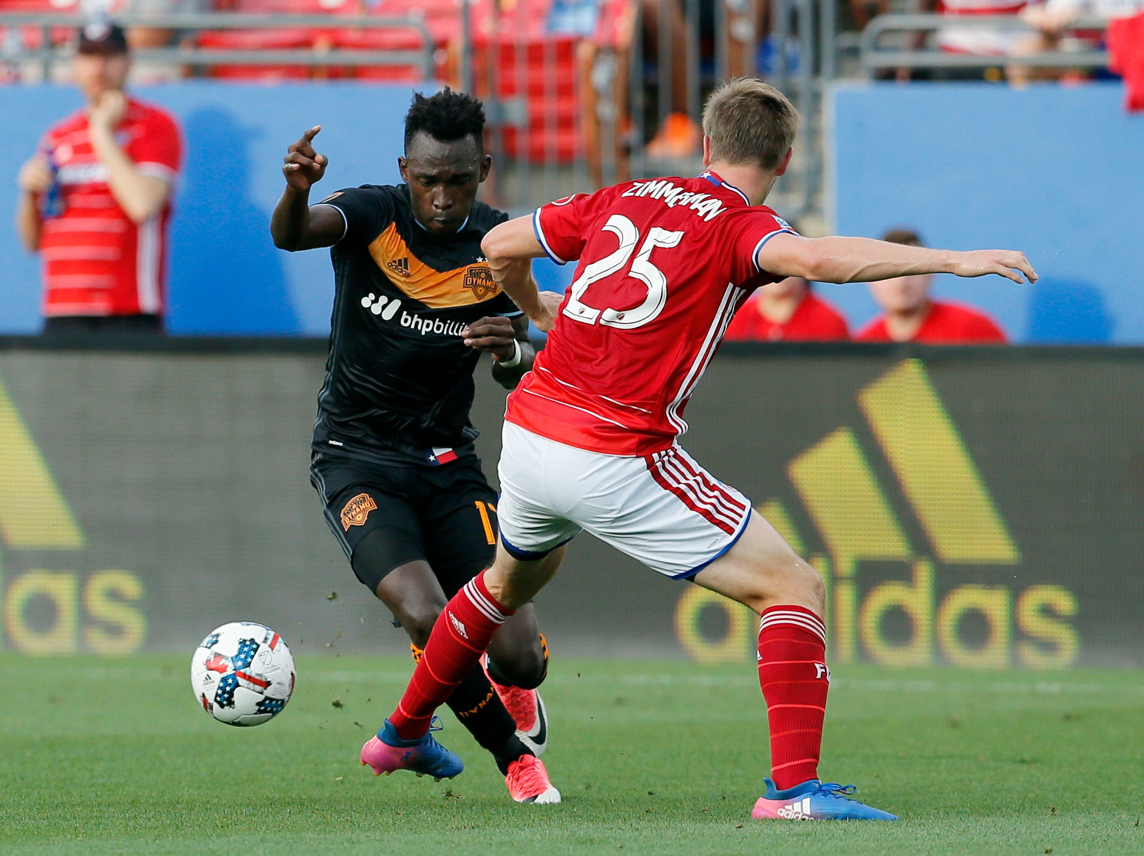 Knee injury clouds Gold Cup outlook for FC Dallas' Zimmerman