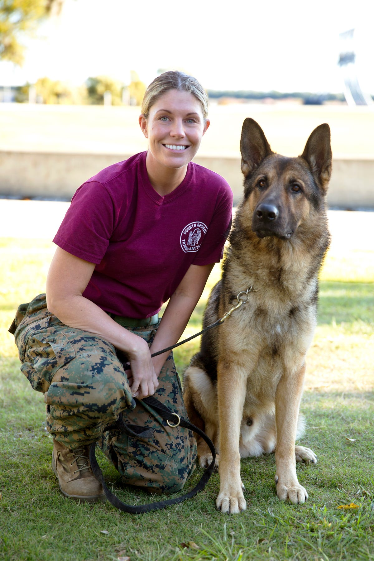 Real-life Megan Leavey talks about the Marines and Sgt  Rex