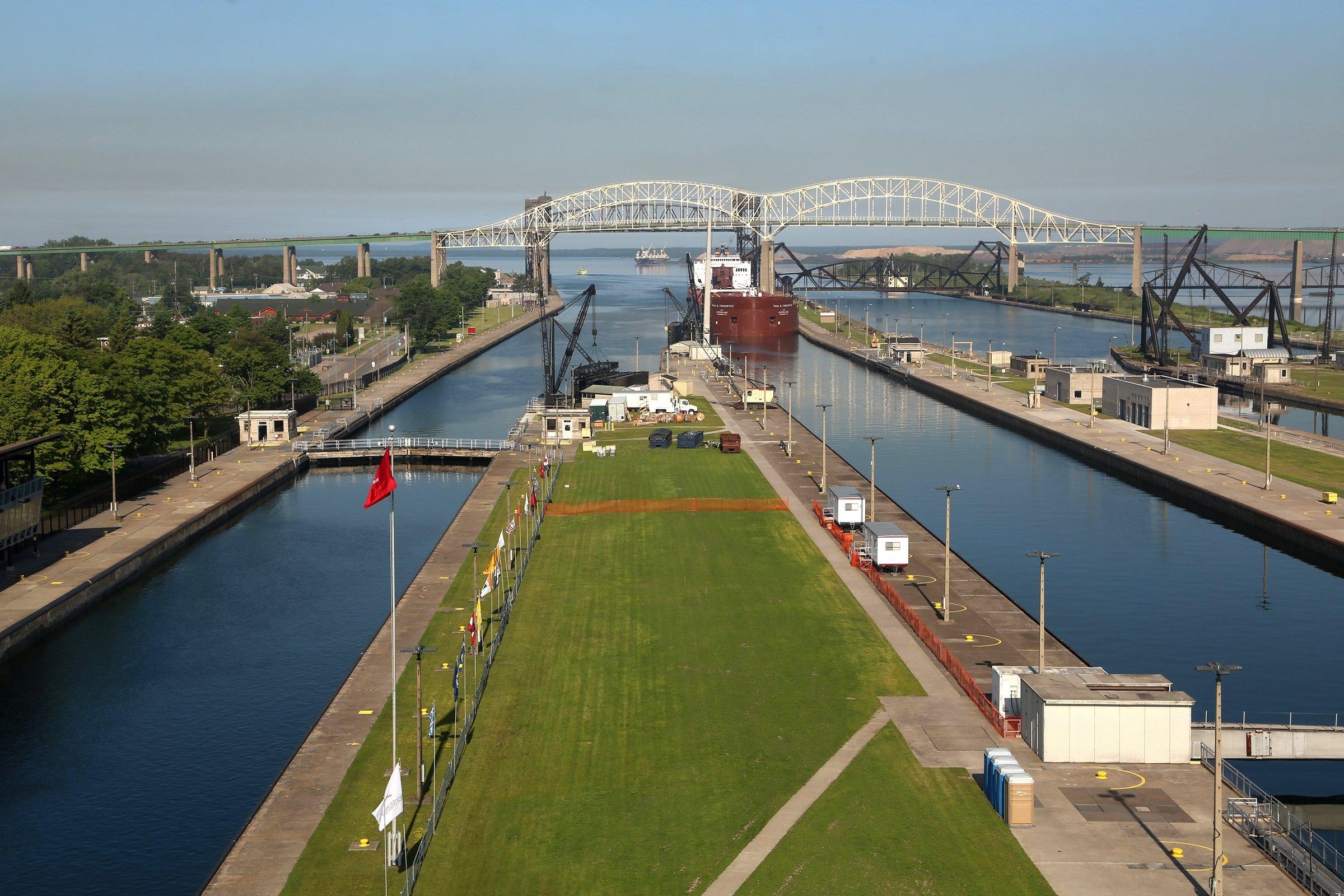 Soo Locks shipping season starts Sunday   Detroit Free Press