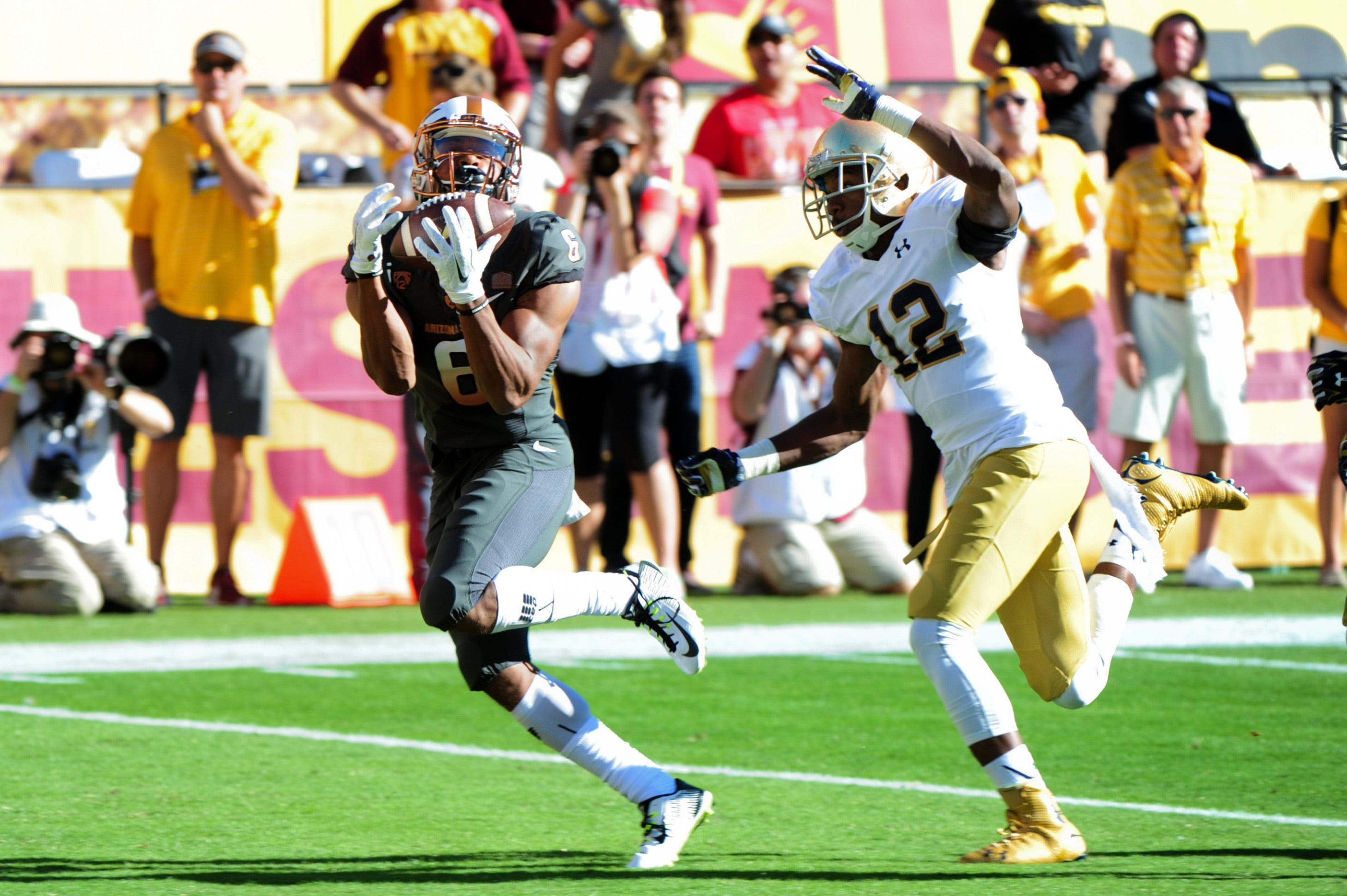 ASU wide receiver Cameron Smith departs for Notre Dame as graduate transfer