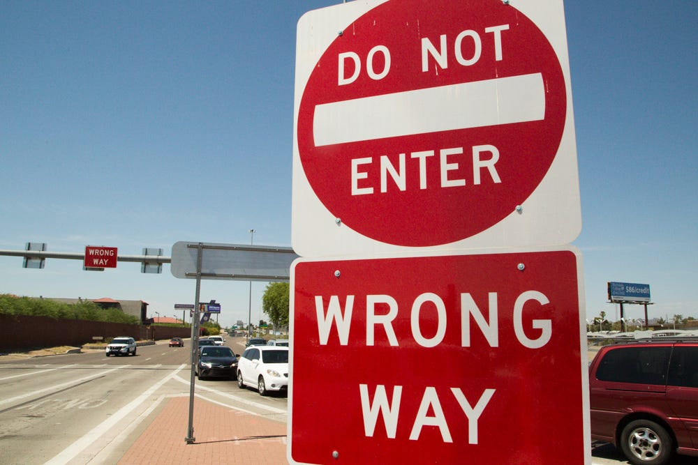 Gov. Doug Ducey wants Arizona to get serious about stopping wrong-way drivers