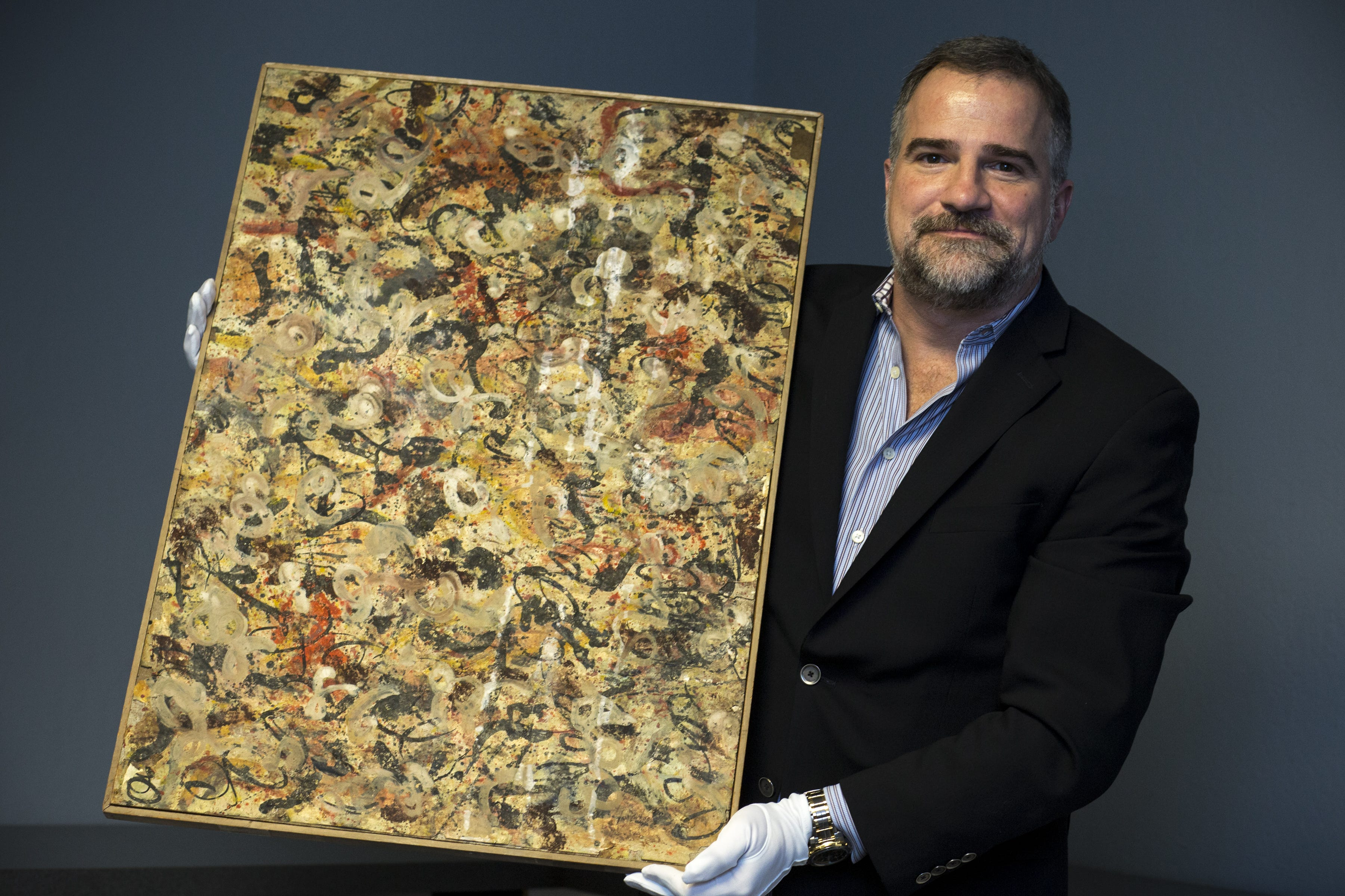 Painting pulled from Arizona attic may be a Jackson Pollock worth $10 million