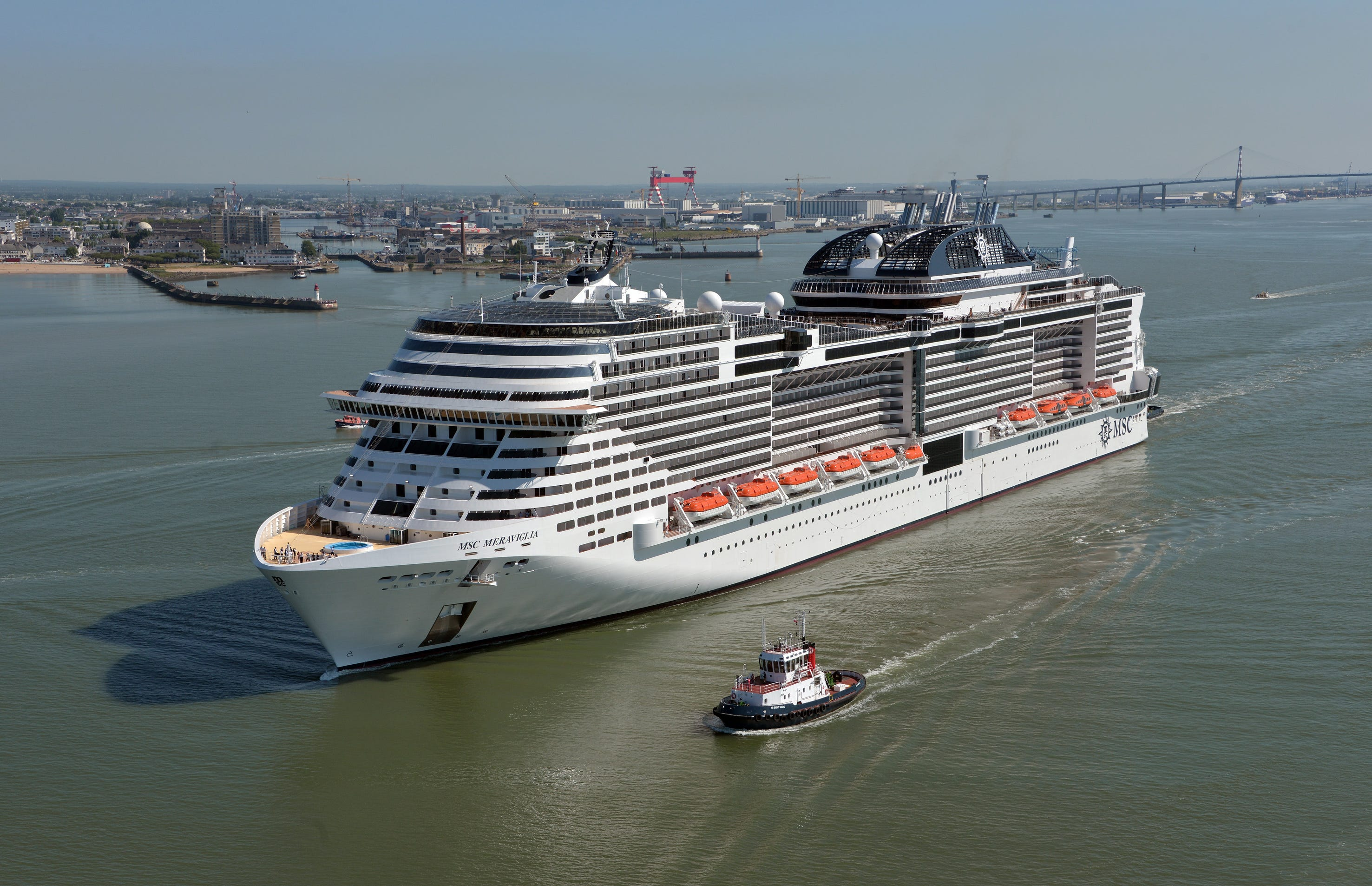 MSC Cruises CEO Few Limits On Where Giant New Ship Can Go