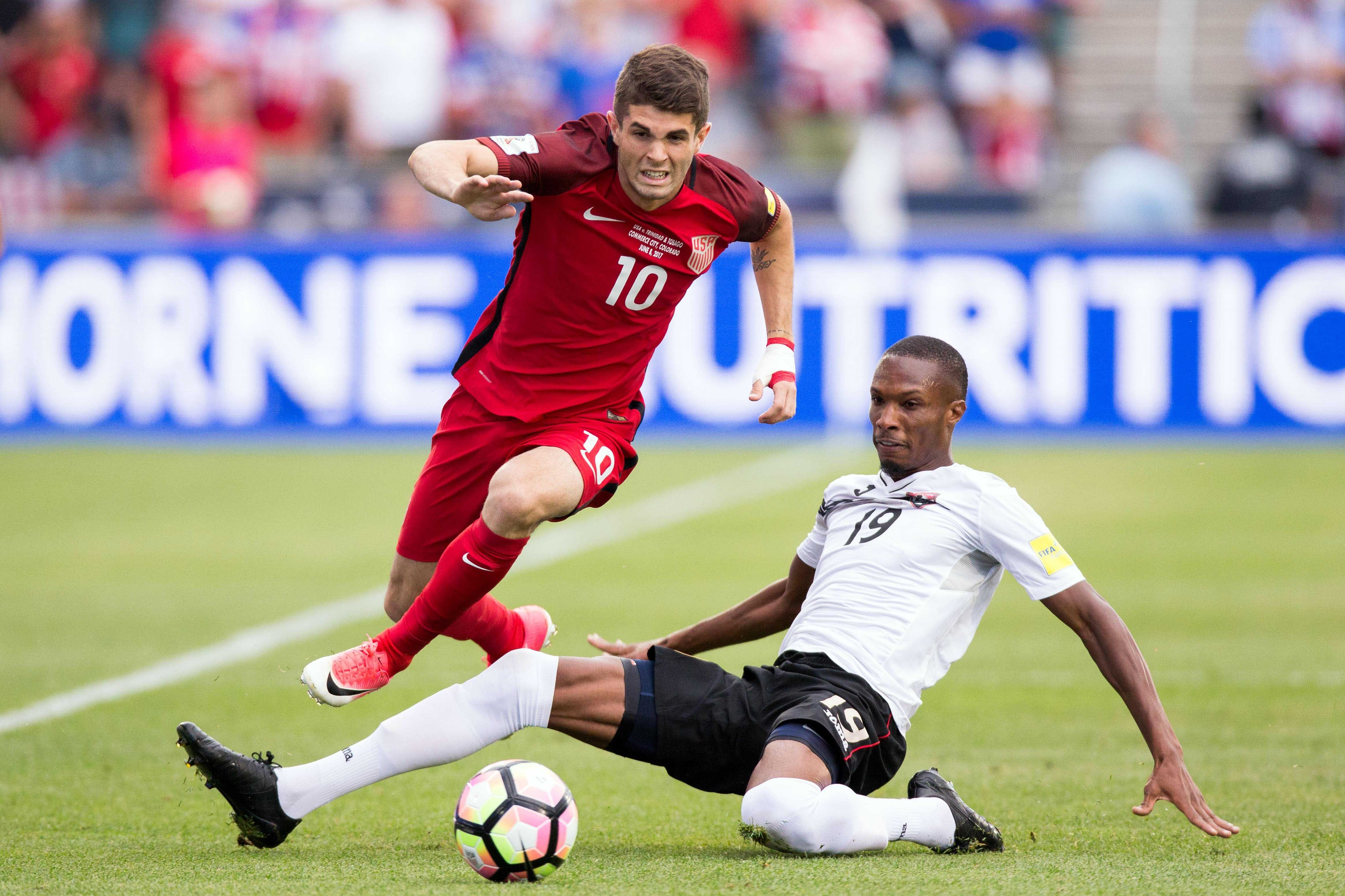 Christian Pulisic's dazzling play puts USA's 2018 World Cup hopes back on track