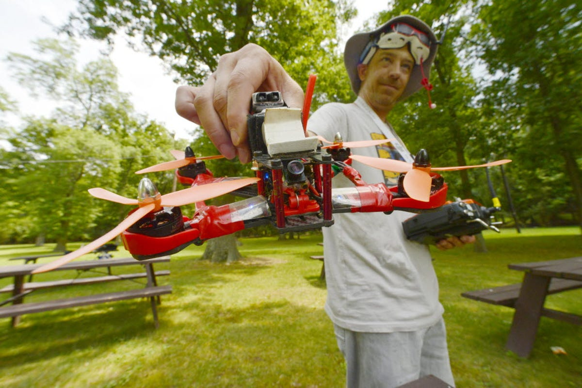 There is a Drone Racing League - and now Londoners can bet on it