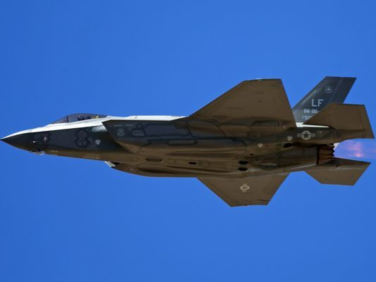 F-35 flights halted at Luke Air Force Base in Glendale over pilot health concerns