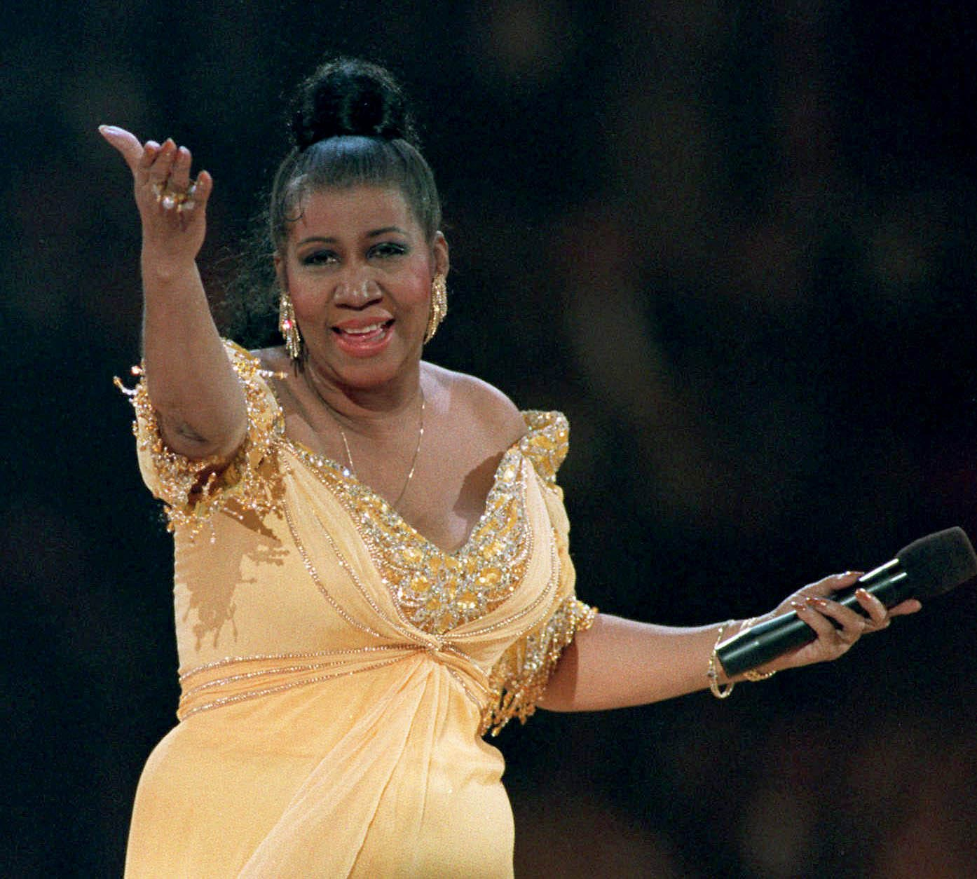 JHud, Celine Dion bring down the house at Aretha Franklin tribute