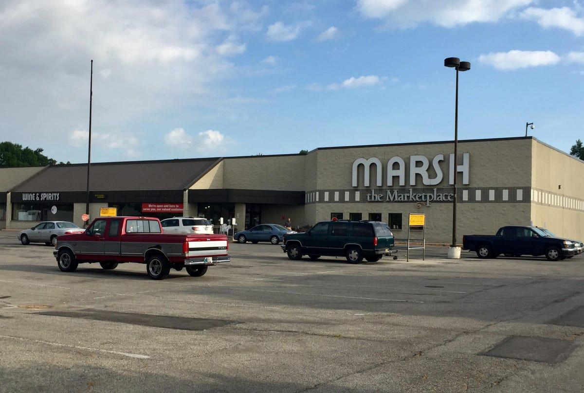 Kroger, Fresh Encounter split Marsh locations, set up