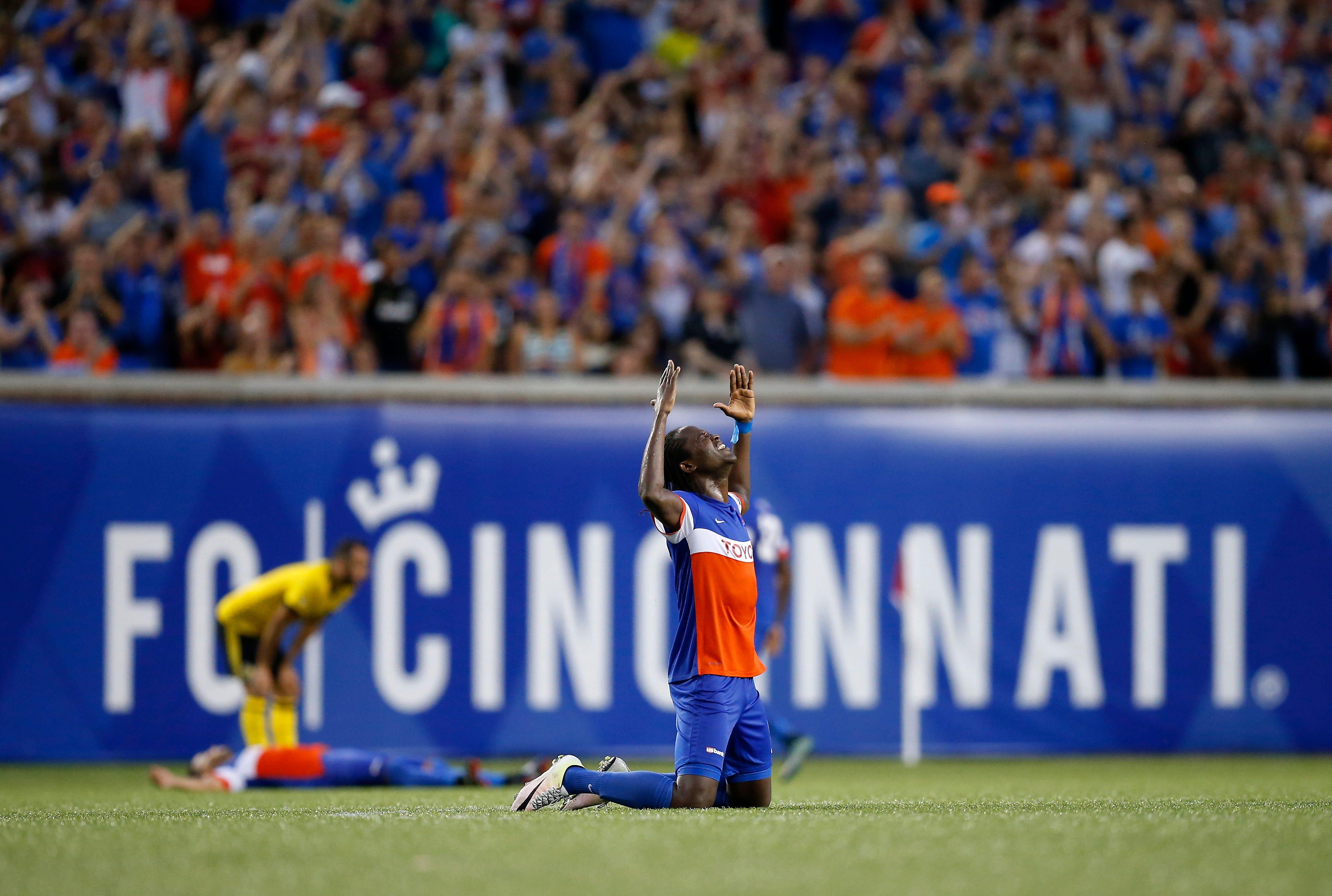 Miracle on grass: FC Cincinnati downs Columbus Crew SC