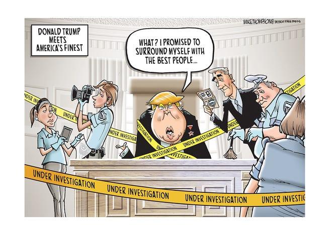 President Donald Trump is under investigation.