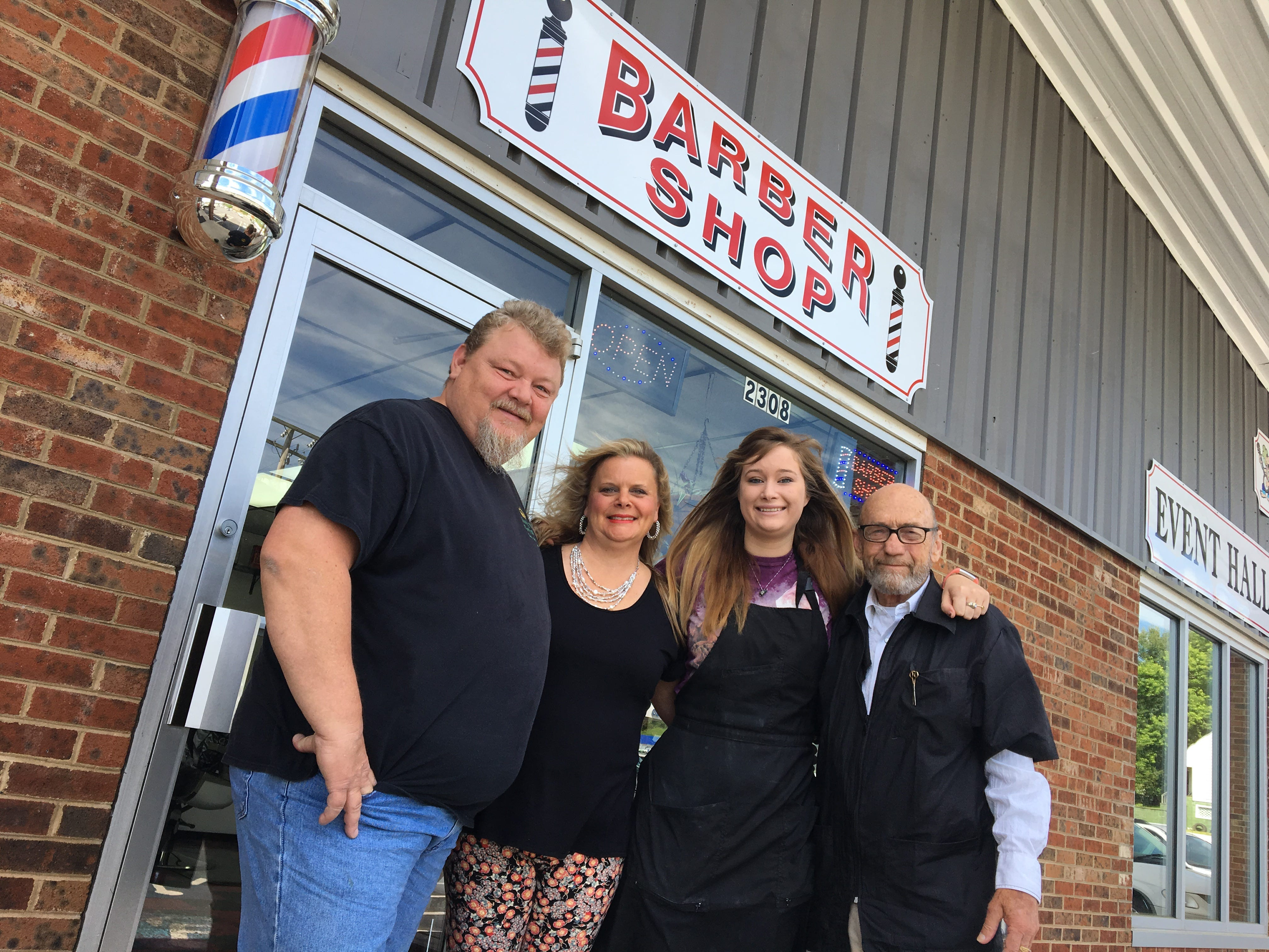 New west end barber shop; ice cream at Mt. Crawford; portrait studio opens — the buzz