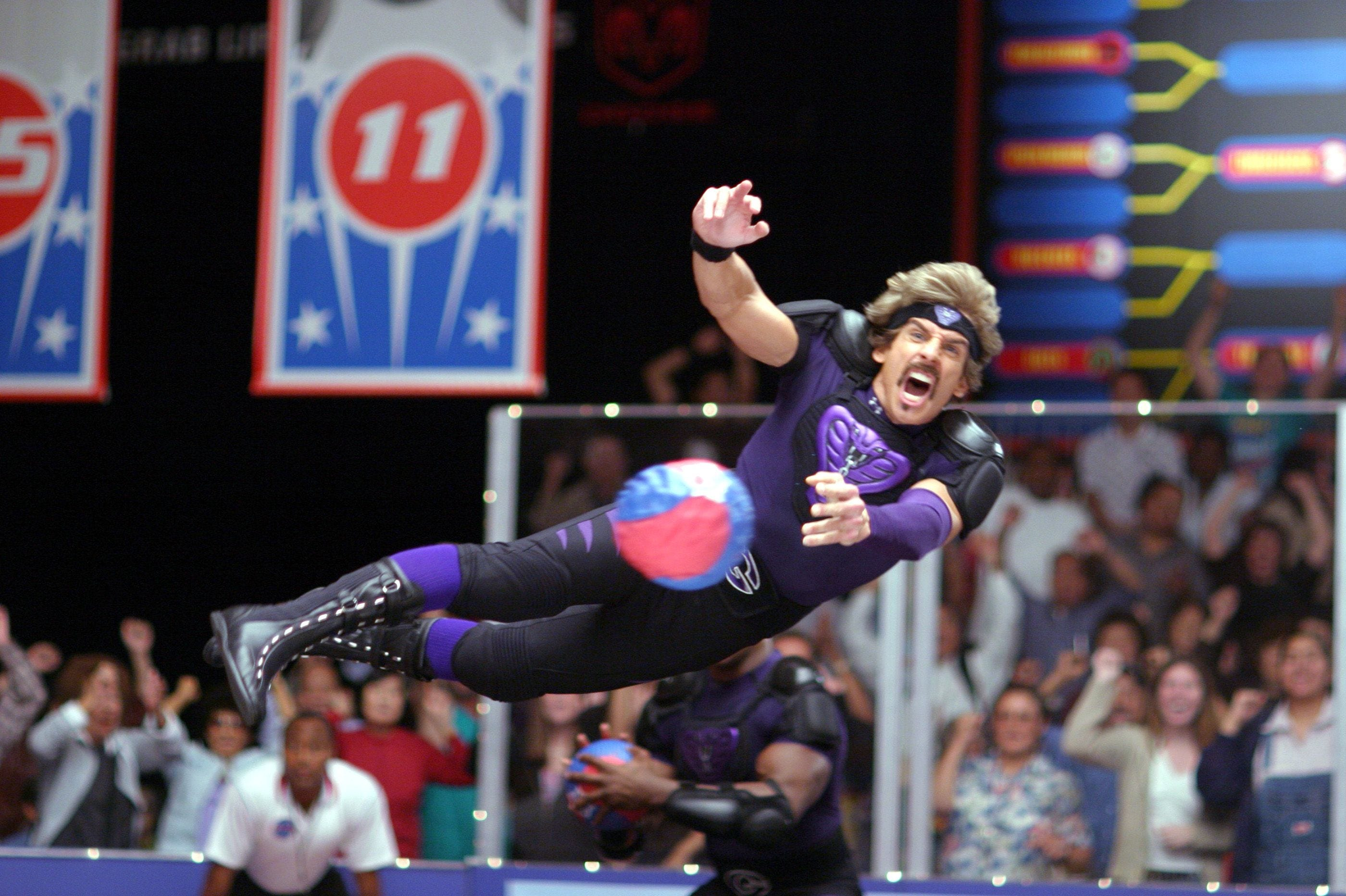 636331153792265987-d08-dodgeball-mov Watch: Ben Stiller reunites the 'Dodgeball' cast