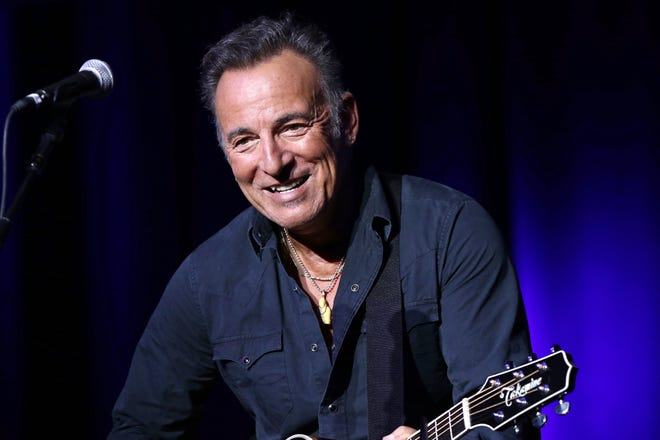 In this Nov. 10, 2015 file photo, Bruce Springsteen performs at the 9th Annual Stand Up For Heroes event in New York.