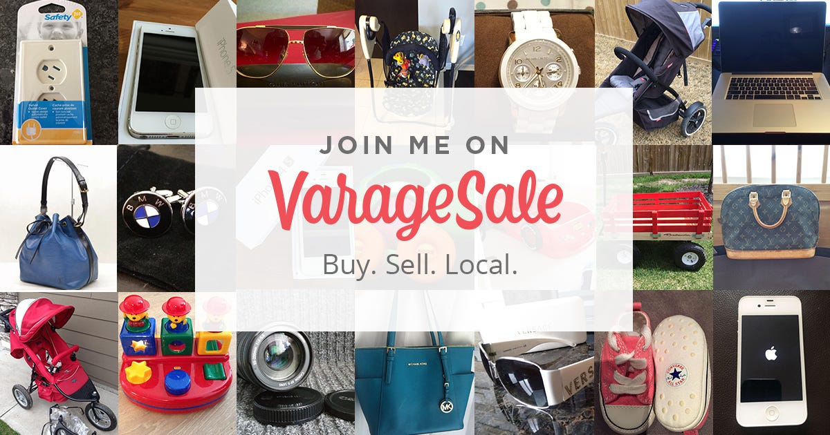 Sell your stuff with these apps that replace garage sales ce538495b